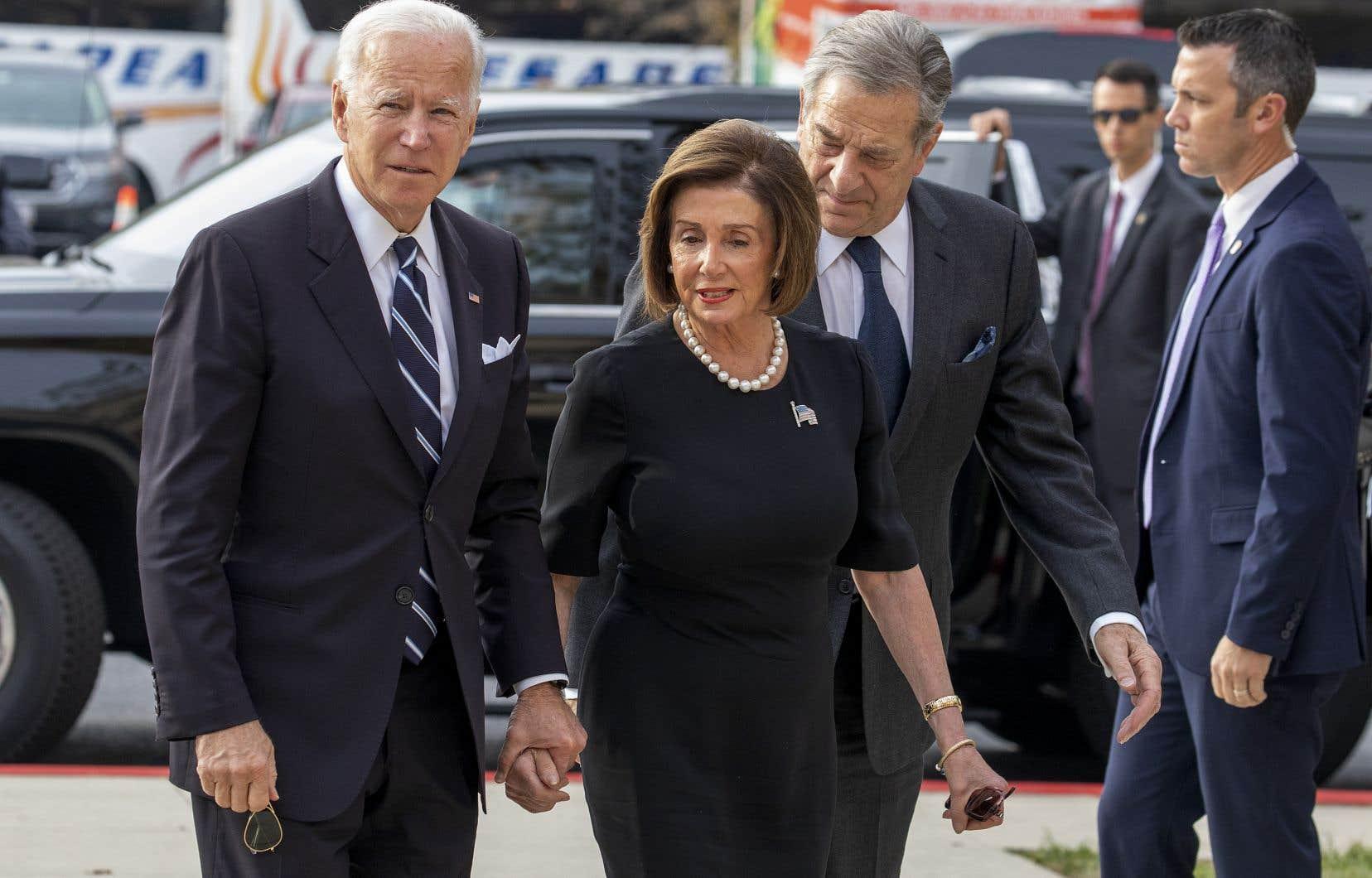 Joe Biden et Nancy Pelosi