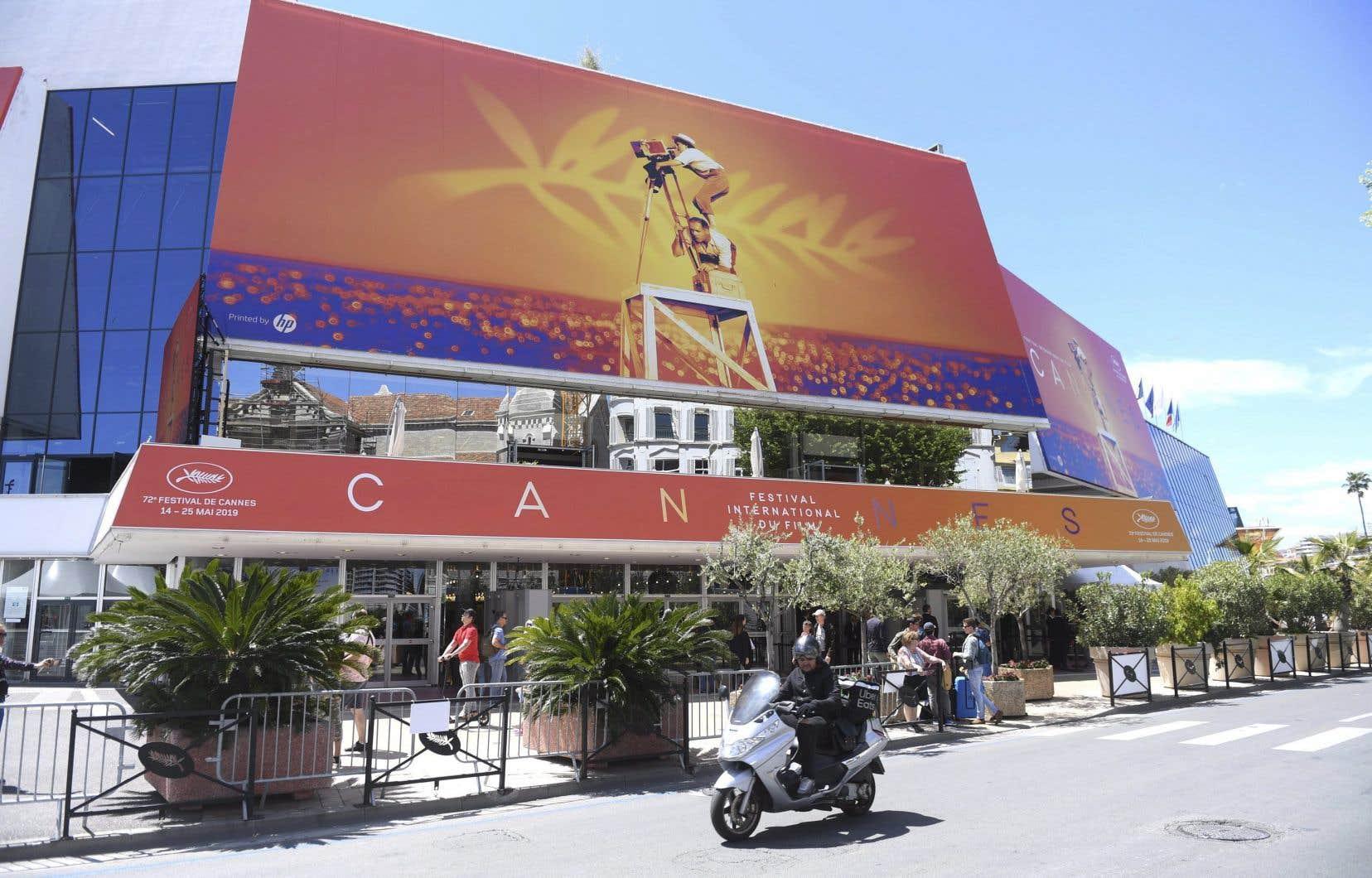 Initialement prévu du 12 au 23mai, le Festival de Cannes avait envisagé un report à la fin de juin, mais les autorités françaises ont depuis interdit tous les rassemblements jusqu'à la mi-juillet. Sur la photo, l'édition 2019 du festival.