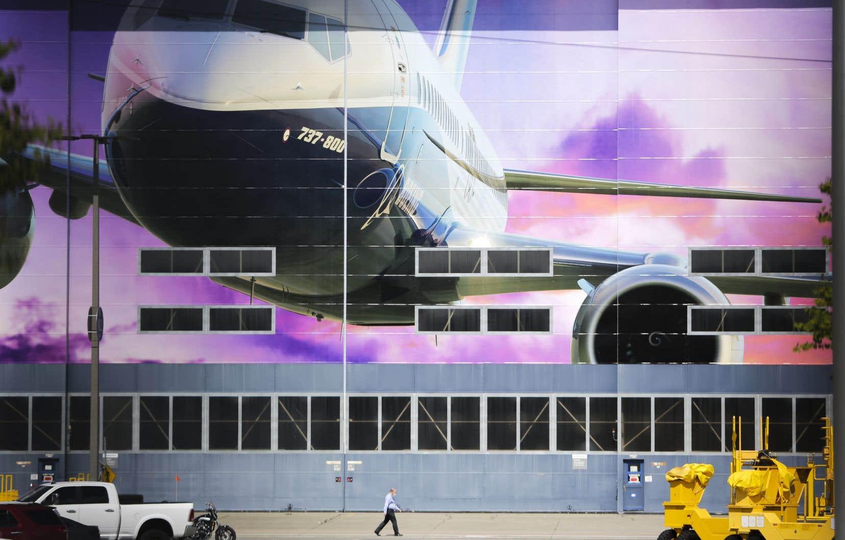 L'usine de Boeing à Renton (Washington), aux États-Unis
