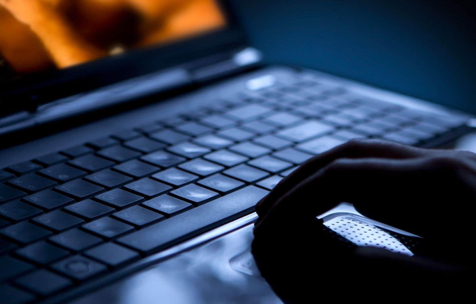 Le logiciel permettrait à un agent de la GRC de recueillir rapidement des données sur les activités d'une personne en ligne.