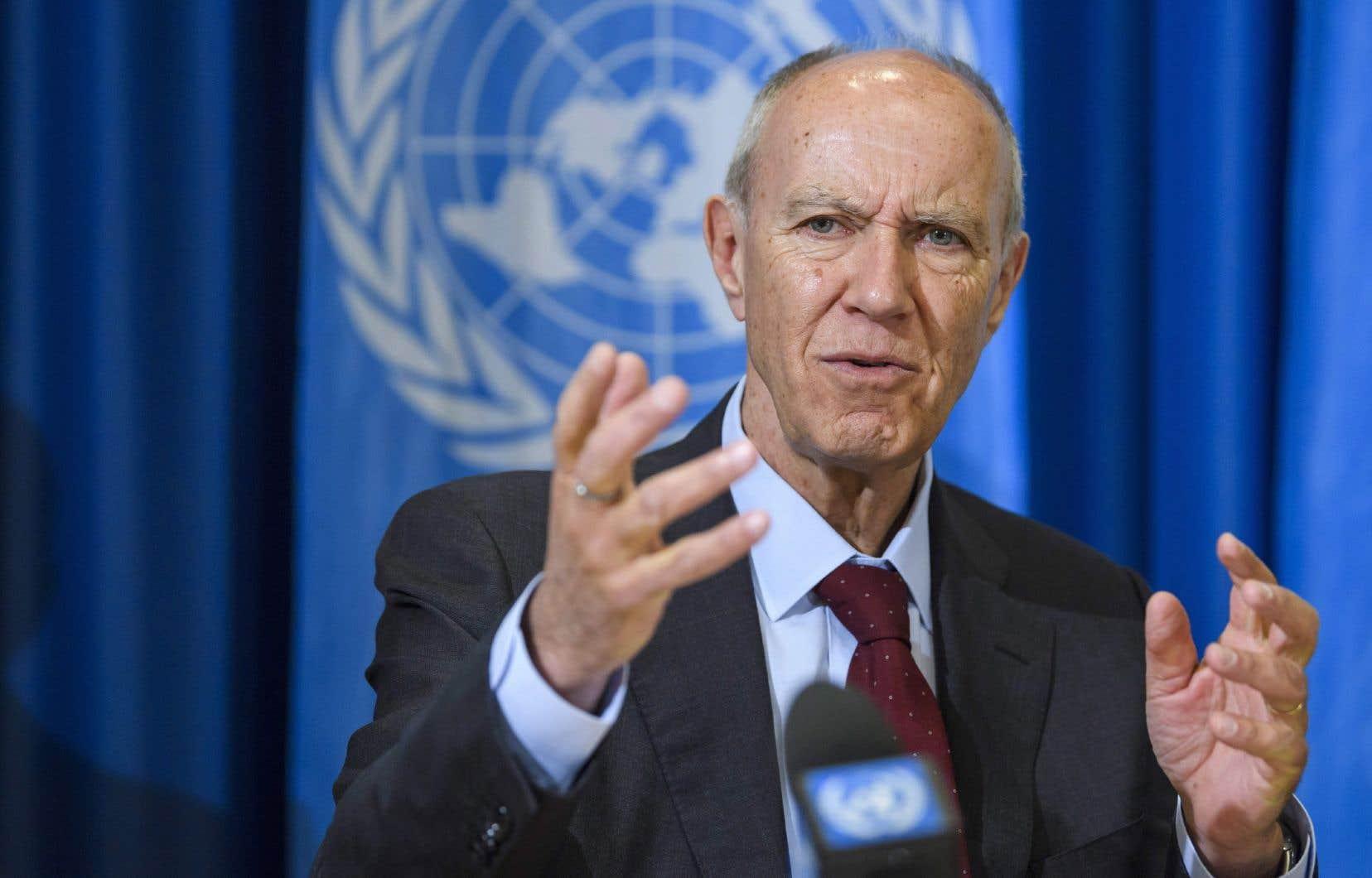 Le directeur général de l'Organisation mondiale de la propriété intellectuelle, Francis Gurry
