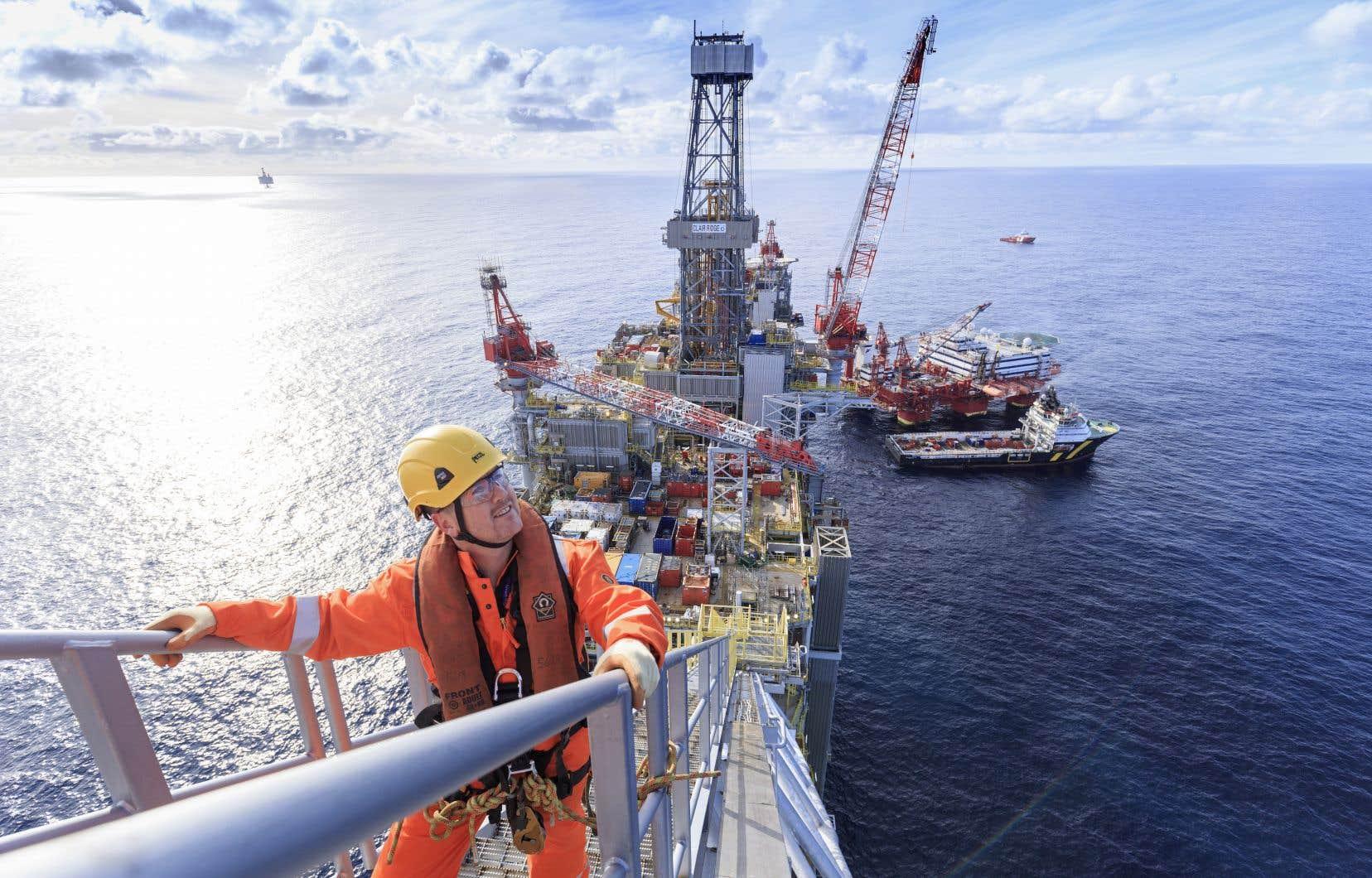 Une plateforme de British Petroleum