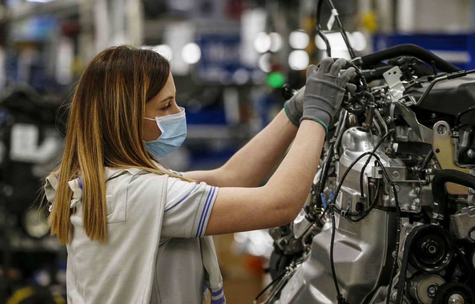 Un peu plus d'une entreprise sur dix a diminué le salaire du personnel et certains traitements.