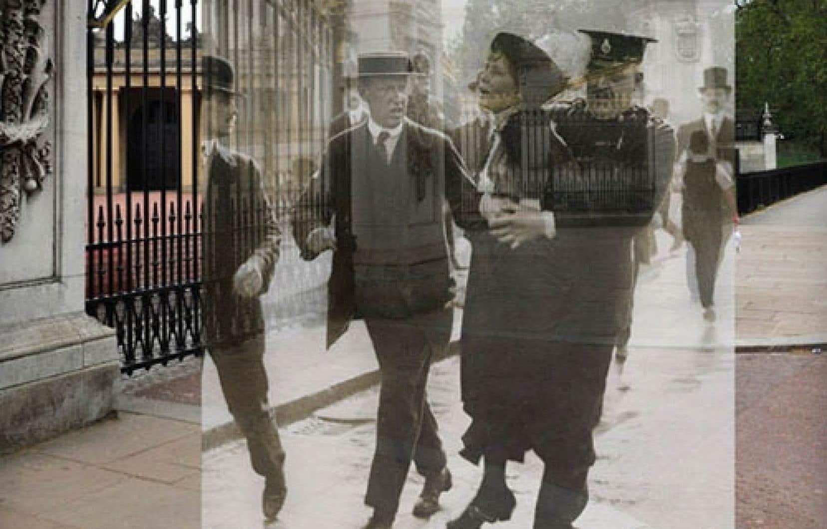 Superposition de réalités: une incursion dans l'espace et dans le temps pilotée par le Musée de Londres<br />