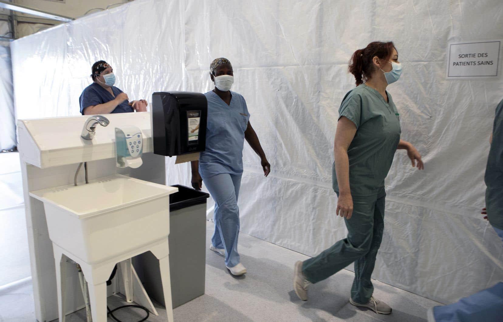 Les infirmières auxiliaires et infirmières travaillent sans relâche depuis le début de la pandémie de coronavirus.