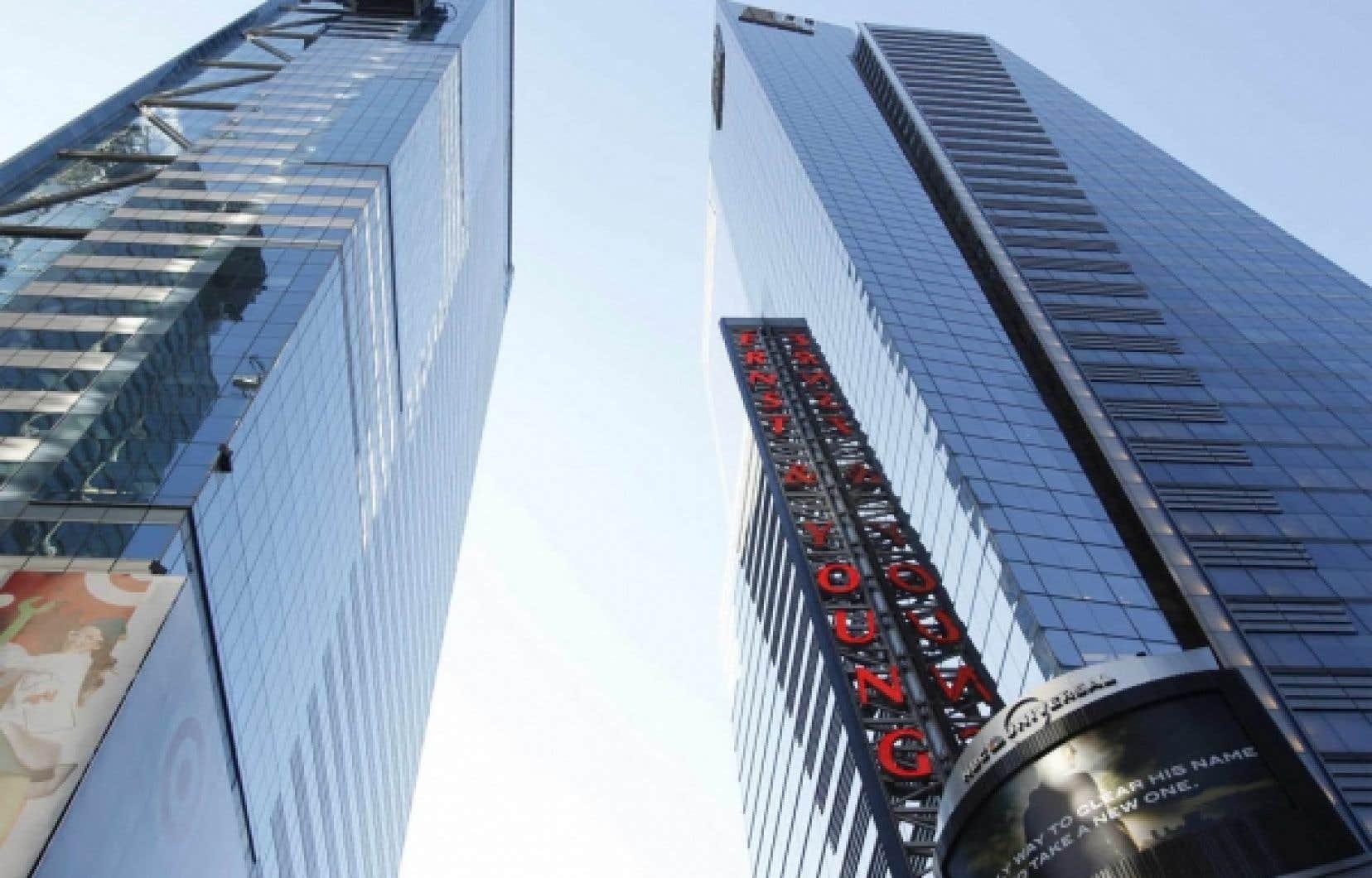 Le siège social d'Ernst & Young, à New York<br />