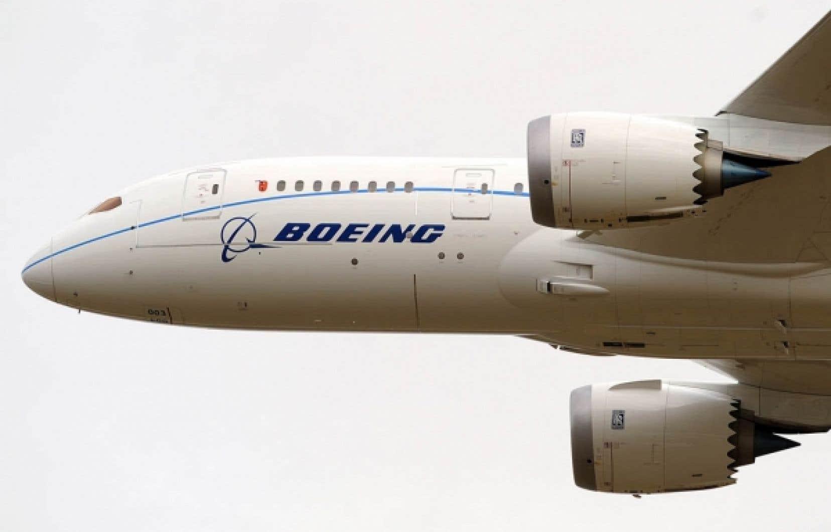 Boeing avait déjà accumulé des retards de trois ans dans la livraison de son 787 Dreamliner.<br />
