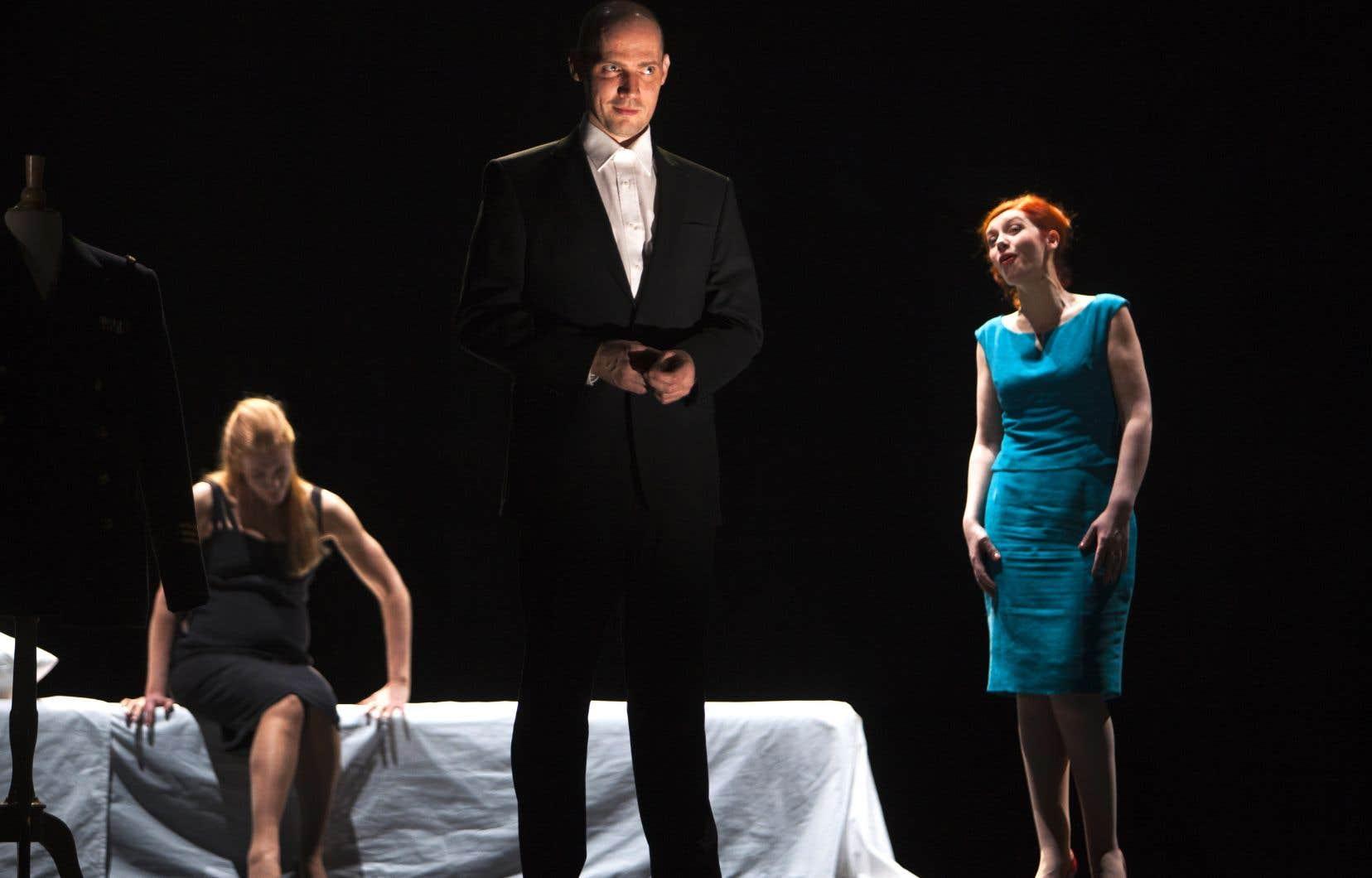 Dans la thématique «opéras inconnus», il peut s'avérer stimulant de se plonger dans les méandres du huis clos familial de «Au monde», créé en 2014 au Théâtre de la Monnaie de Bruxelles.
