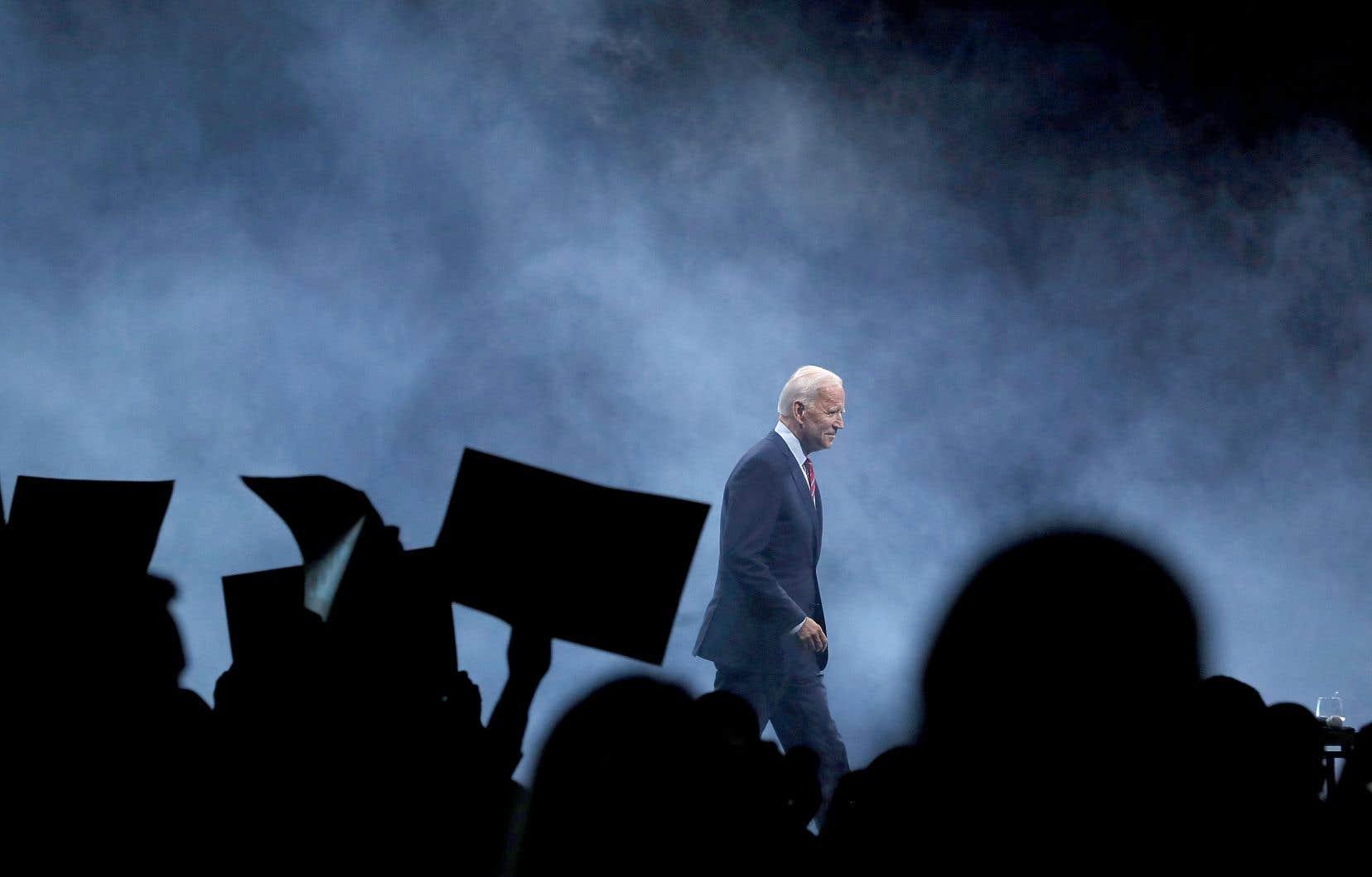 Le candidat démocrate Joe Biden a répété plusieurs fois que ce que son accusatrice dénonce «n'est jamais arrivé».