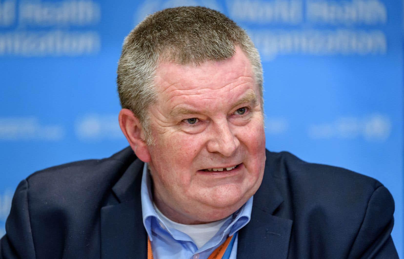 Le directeur des programmes d'urgence de l'Organisation mondiale de la santé, Michael Ryan