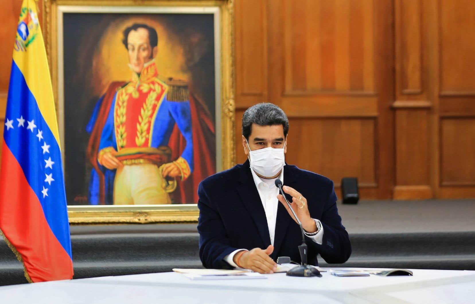 Le dirigeant vénézuélien, Nicolas Maduro, a affirmé lundi que quinze personnes, dont deux Américains, ont été arrêtées en deux jours pour une tentative «d'invasion» par mer du Venezuela.
