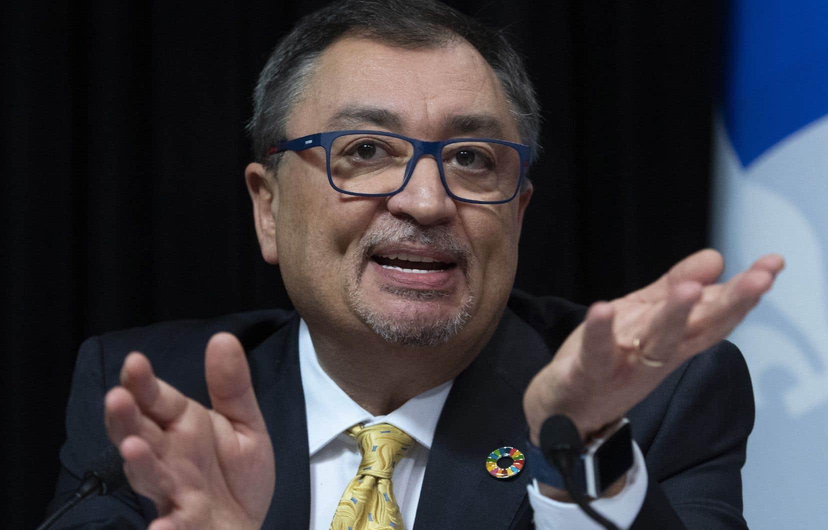 Ledirecteur national de santé publiqueHoracio Arruda