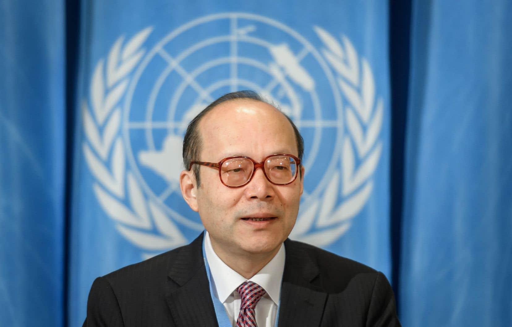 Chen Xun, ambassadeur chinois auprès des Nations unies à Genève