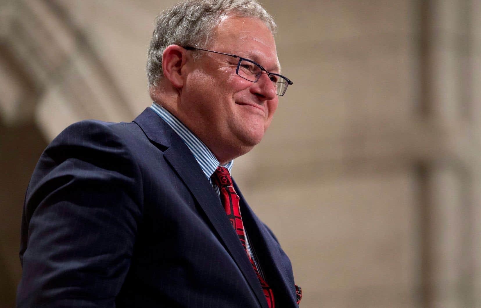 L'ancienprésident de l'Assemblée nationale du Québec, Jacques Chagnon