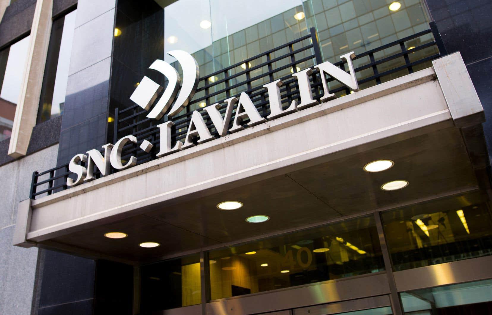 Le siège social de la firme d'ingénierie SNC-Lavalin se trouve actuellement au centre-ville de Montréal.