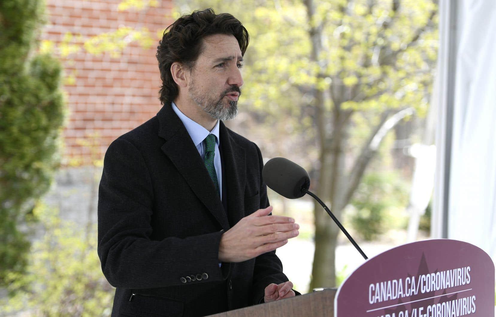 Le réseau d'accueil des personnes âgées doit être repensé, a affirmé Justin Trudeau.