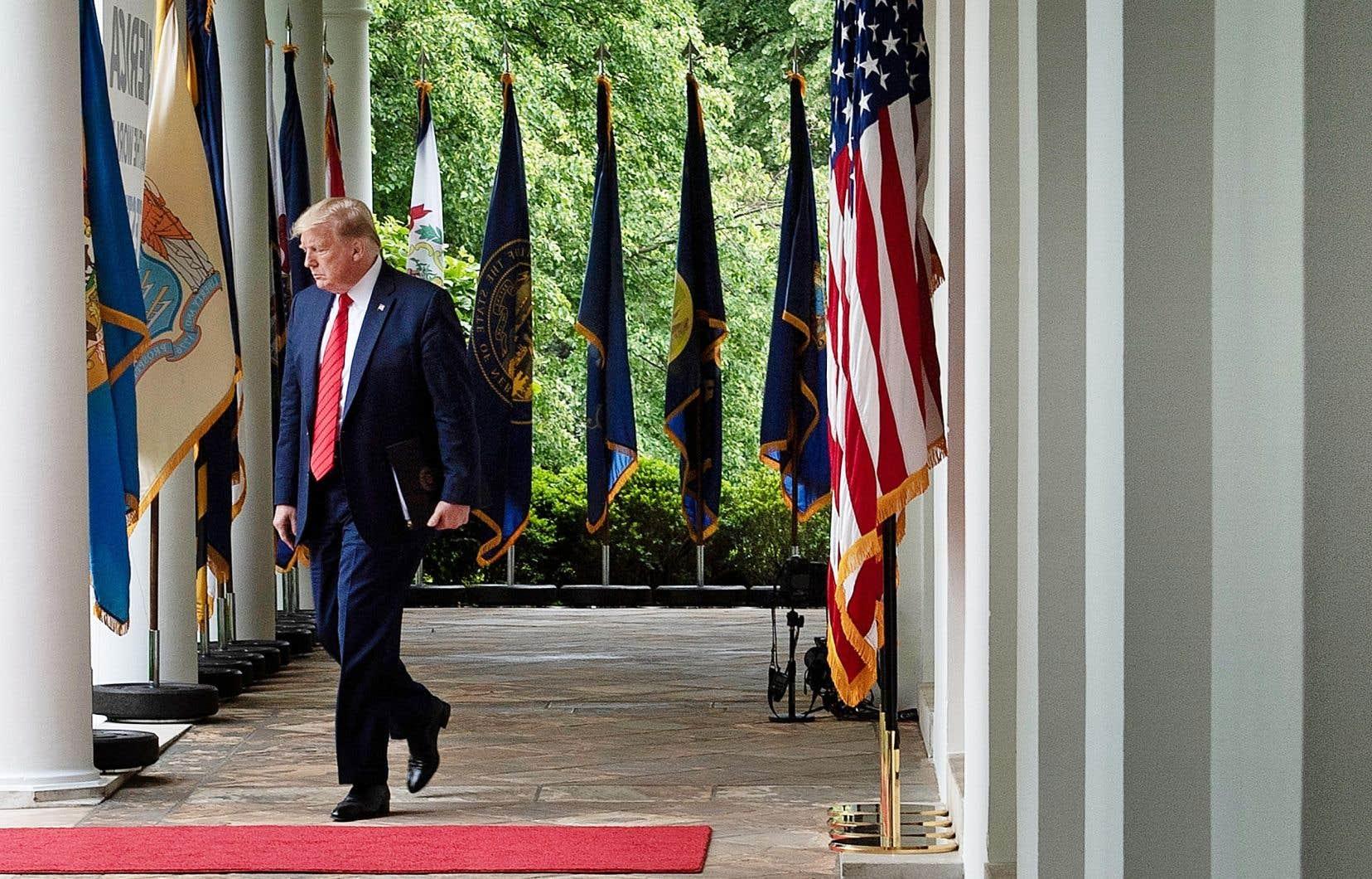 Selon les avocats de Donald Trump, le président jouit d'une immunité totale pendant son mandat.