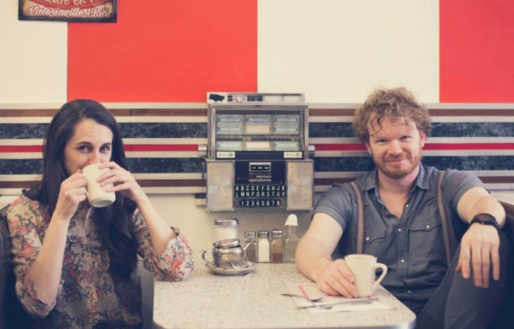 Anique Granger et Benoit Archambault, qui forment le duo Prairie Comeau, présenteront  les pièces de leur dernier album le 31mai.