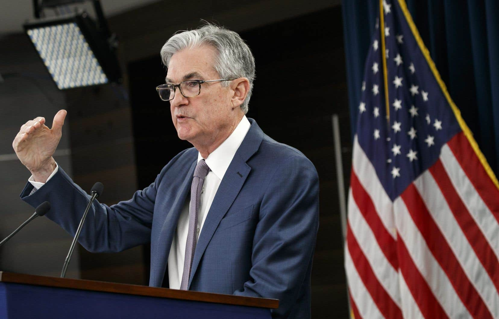 Le directeur de la banque centrale américaine,Jerome Powell