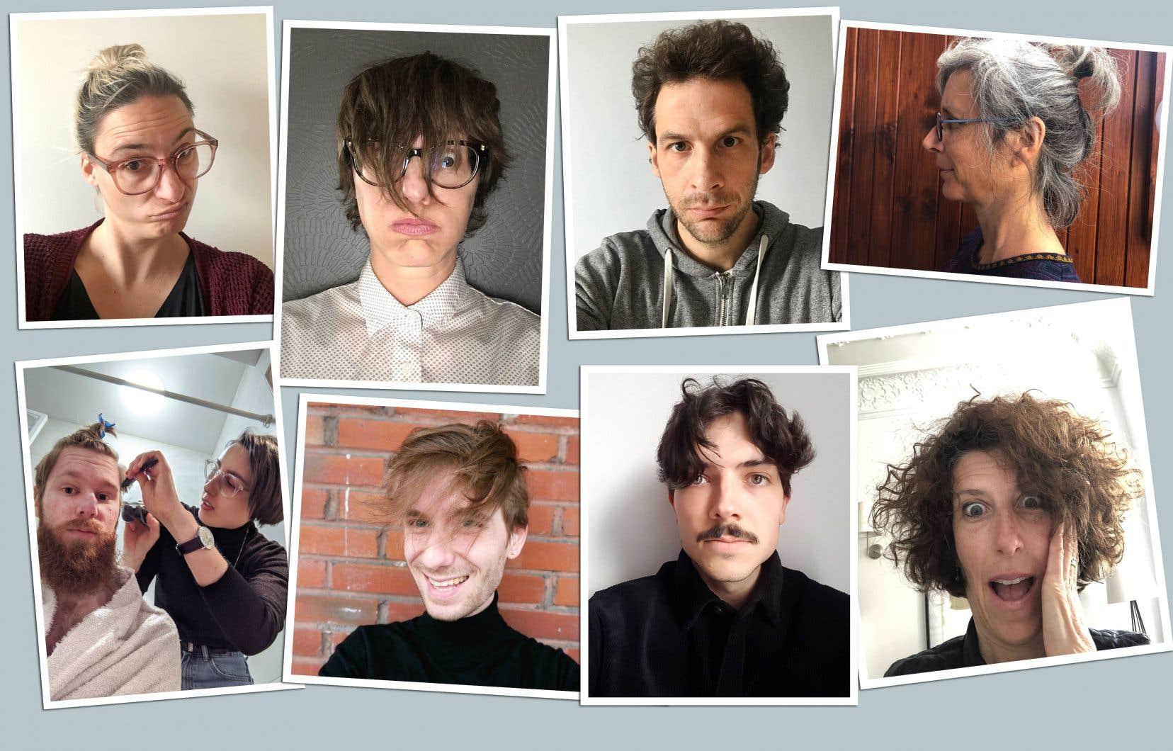 Certains employés du «Devoir» ont hâte de passer au salon de coiffure.
