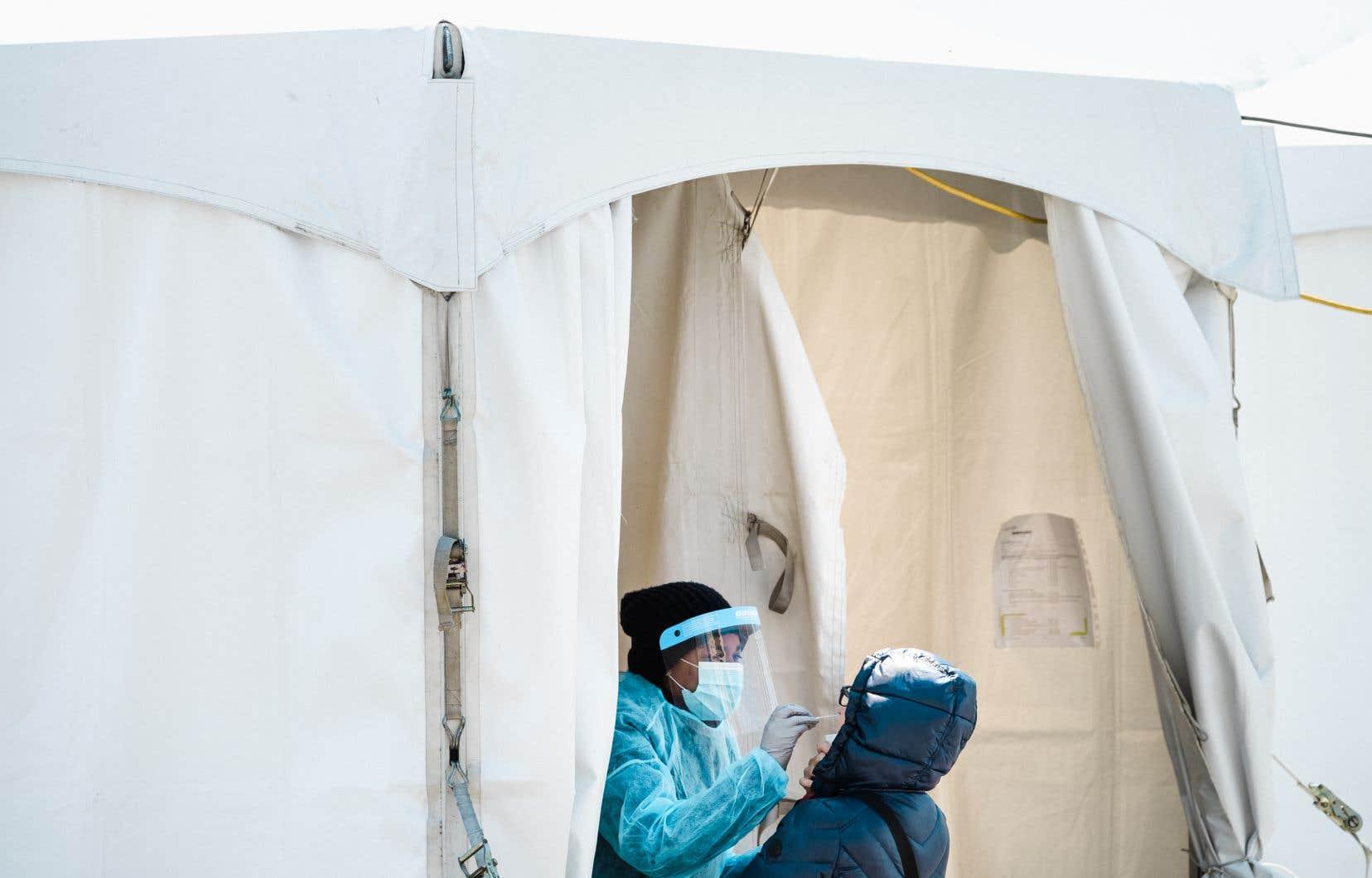 La clinique de dépistage sans rendez-vous de Montréal-Nord