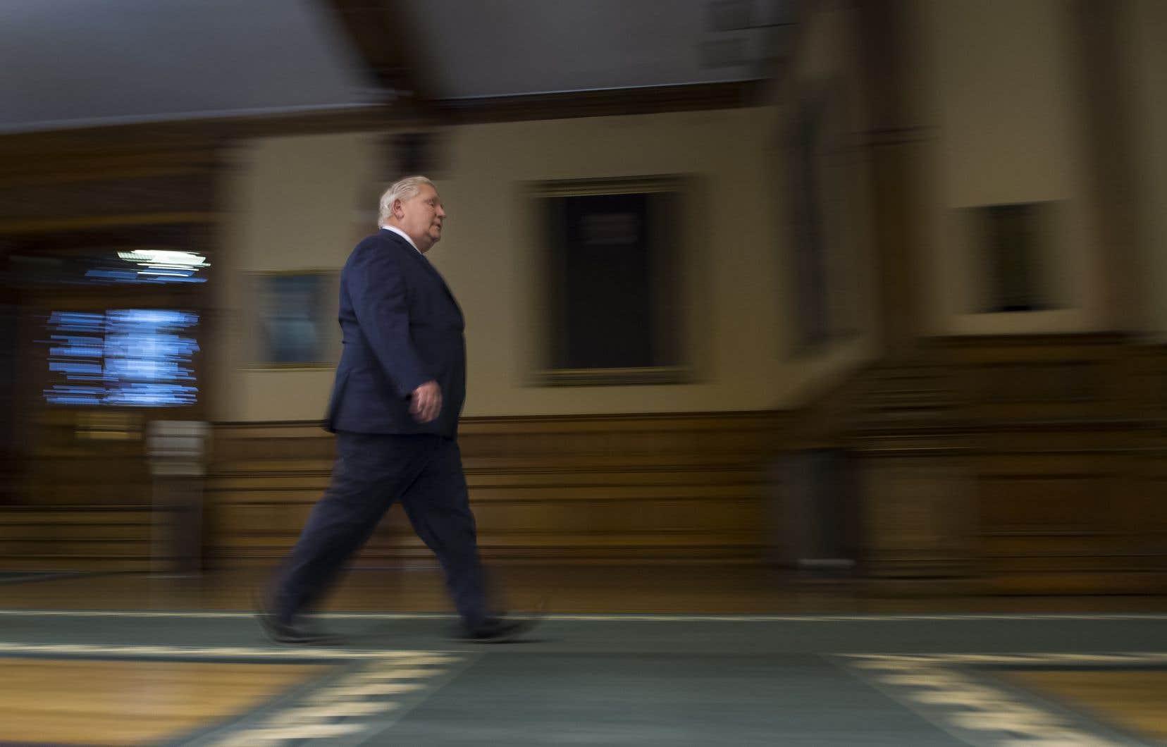 Le premier ministre Doug Ford