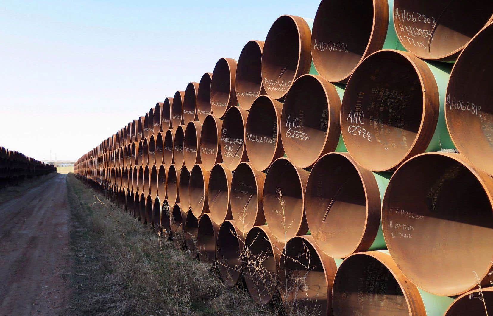 La construction de l'oléoduc Keystone XL est à l'arrêt depuis un mois.