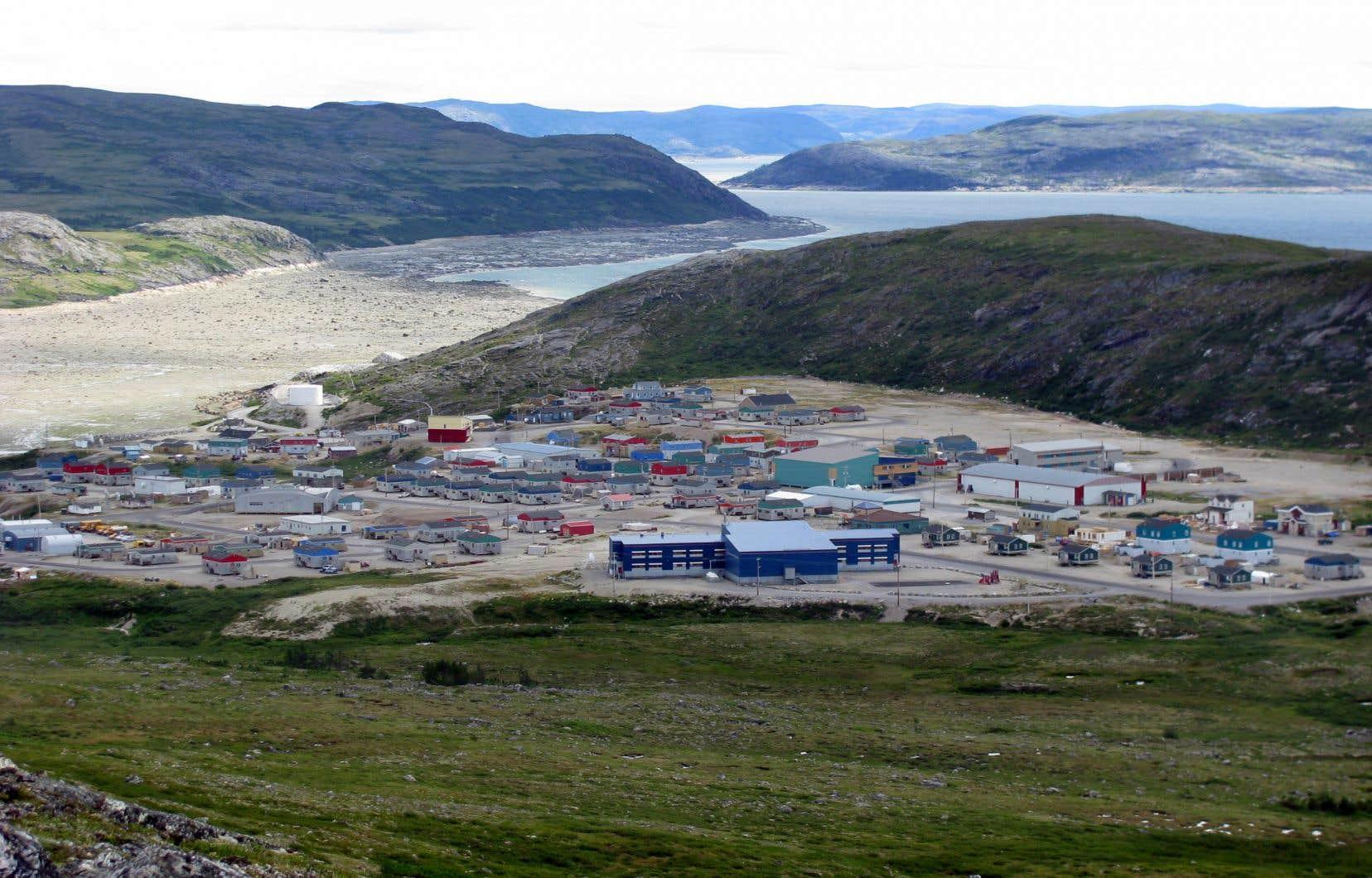 Le village inuit de Kangiqsualujjuaq, au Nunavik