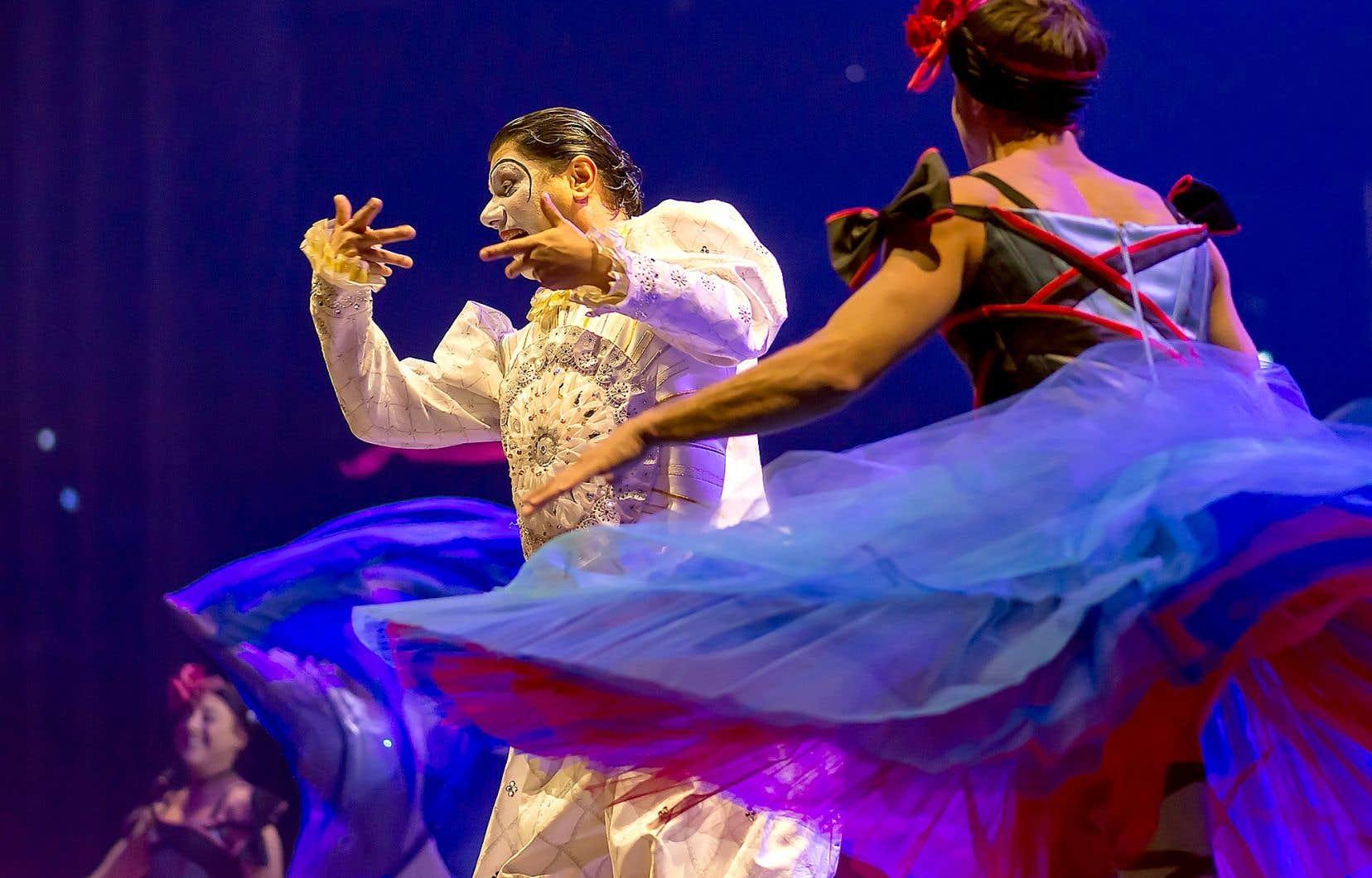 Une scène du spectacle «Corteo»