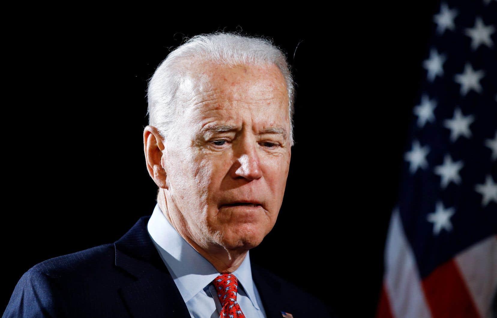 «Je n'aurais pas dû être aussi désinvolte», a déclaré l'ancien vice-président américain Joe Biden.