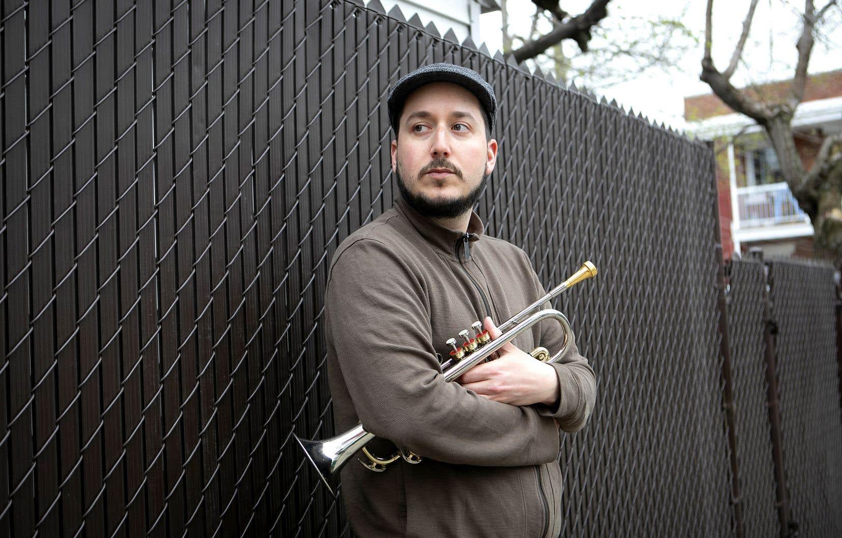 Le trompettiste Jérome Dupuis-Cloutier n'est pas rassuré de la suite des choses pour les nombreux musiciens de son statut professionnel.