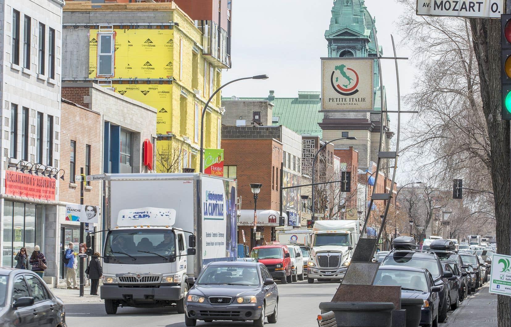 Beaucoup de commerçants de la Petite-Italie qui ont pignon sur le boulevard Saint-Laurent s'opposent à la piétonnisation de l'artère.