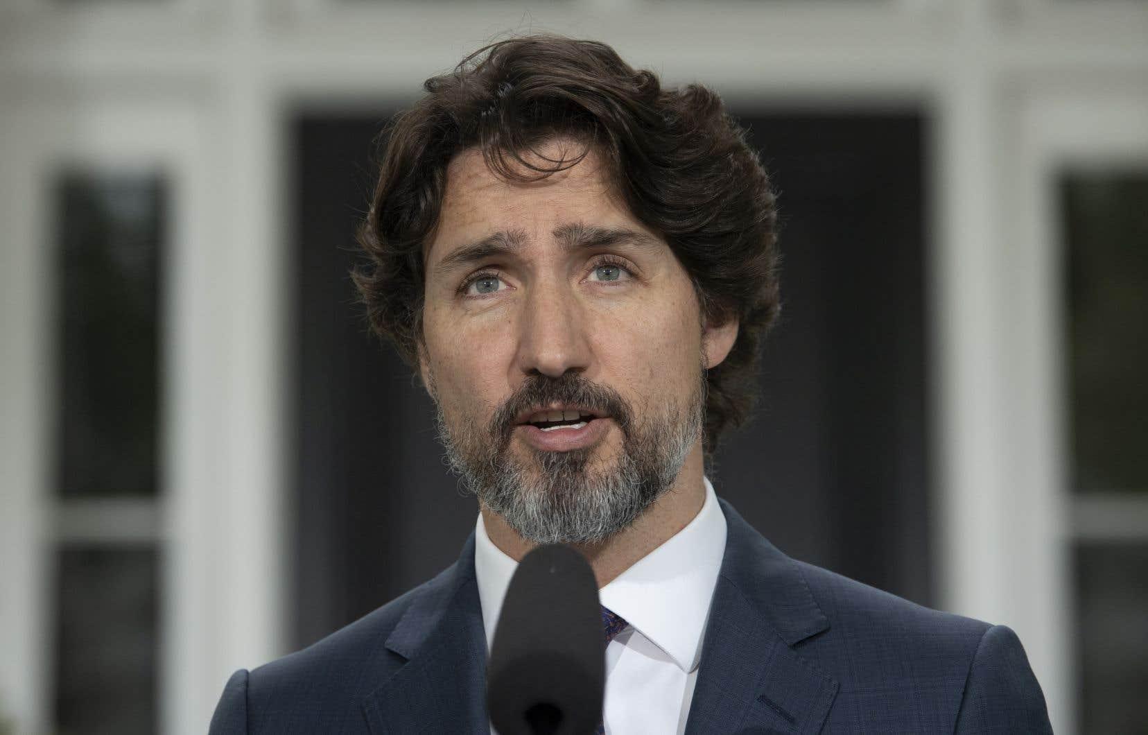 Le premier ministre du Canada, Justin Trudeau