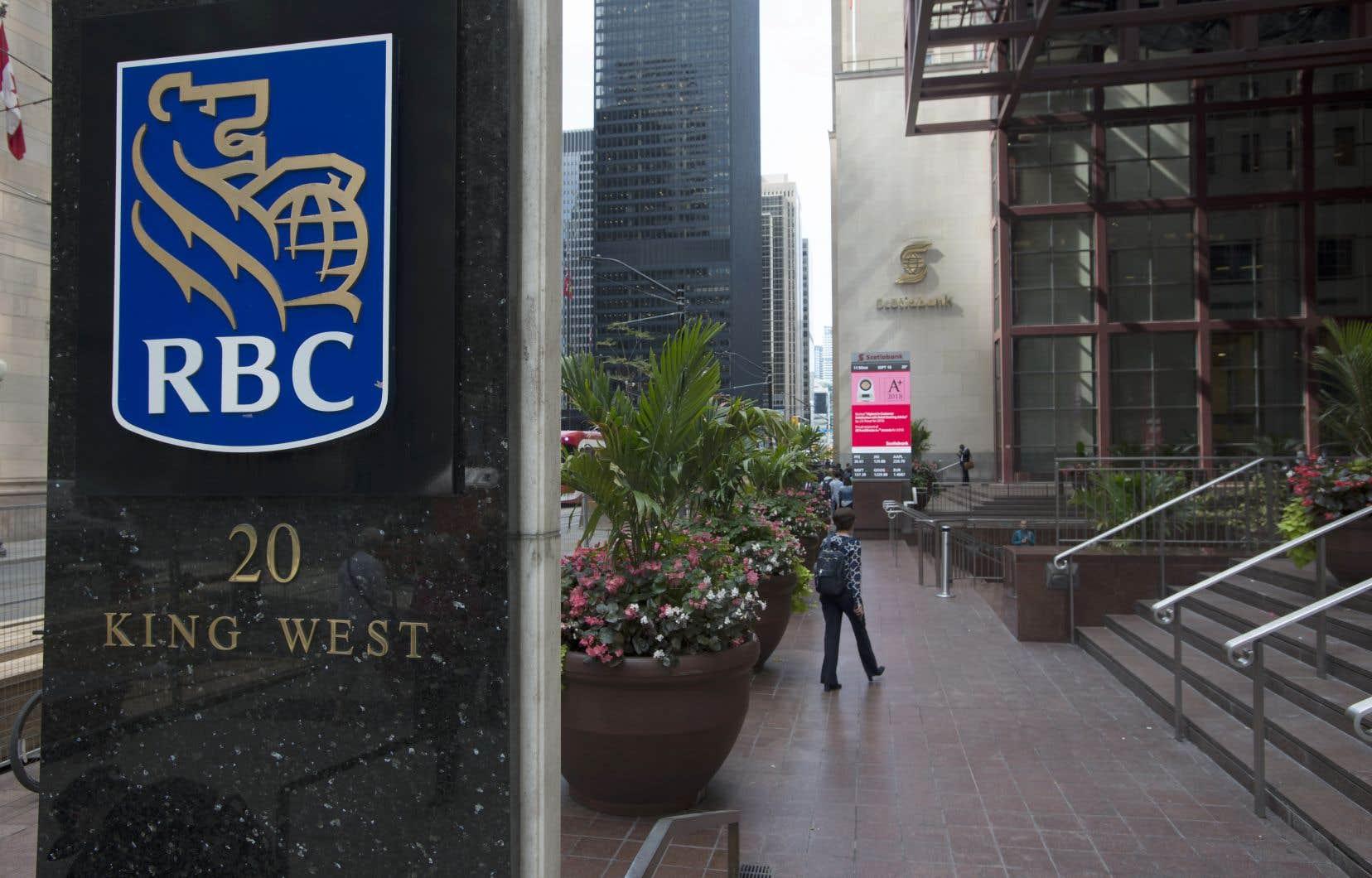 Le bénéfice net de la Banque Royale pour le trimestre terminé le 30avril a reculé à 1,48milliard, comparativement à celui de 3,23milliards affiché il y a un an.
