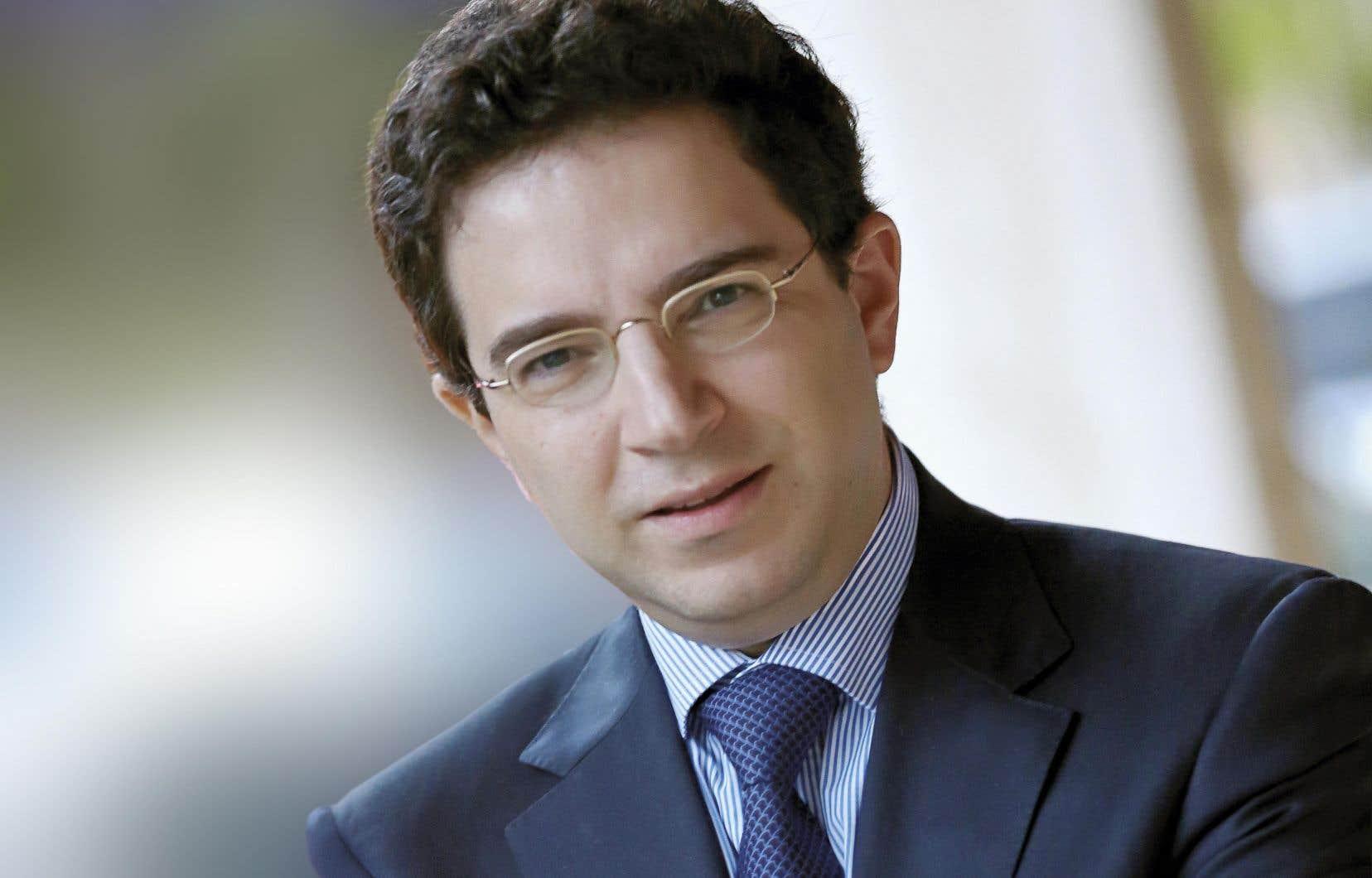L'écrivainAlexandre Najjar