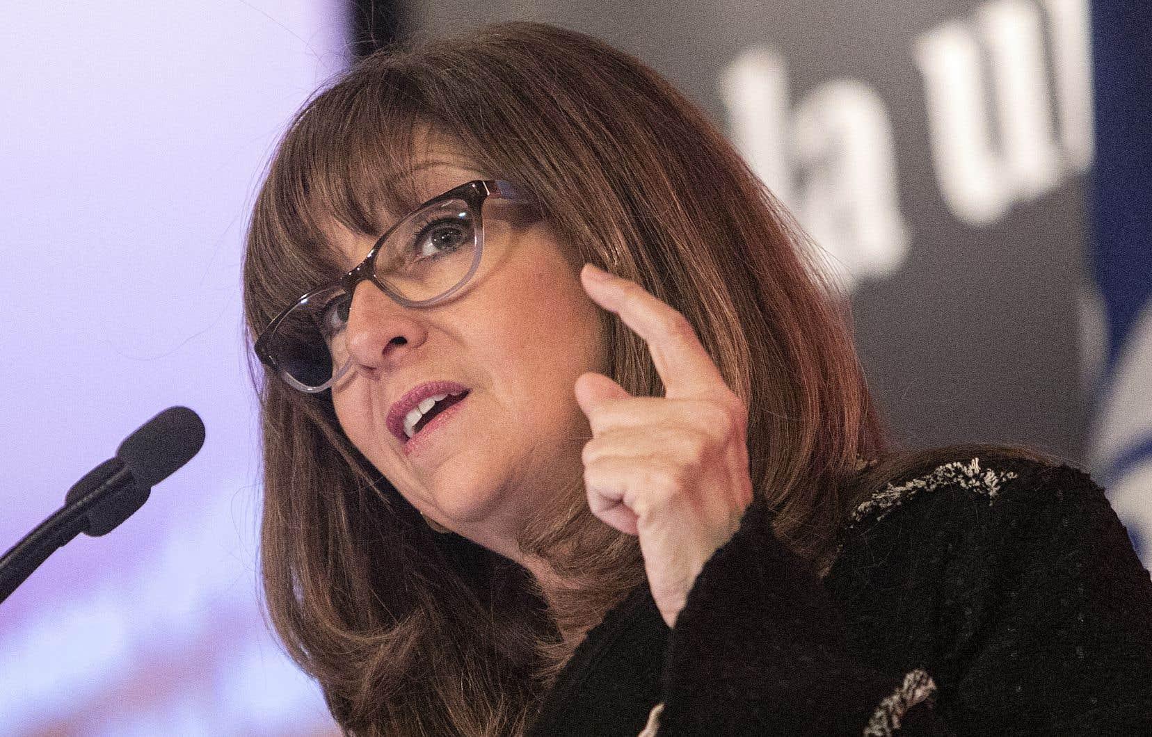 Nathalie Roy, titulaire du ministère de la Culture et des Communications (MCCQ)