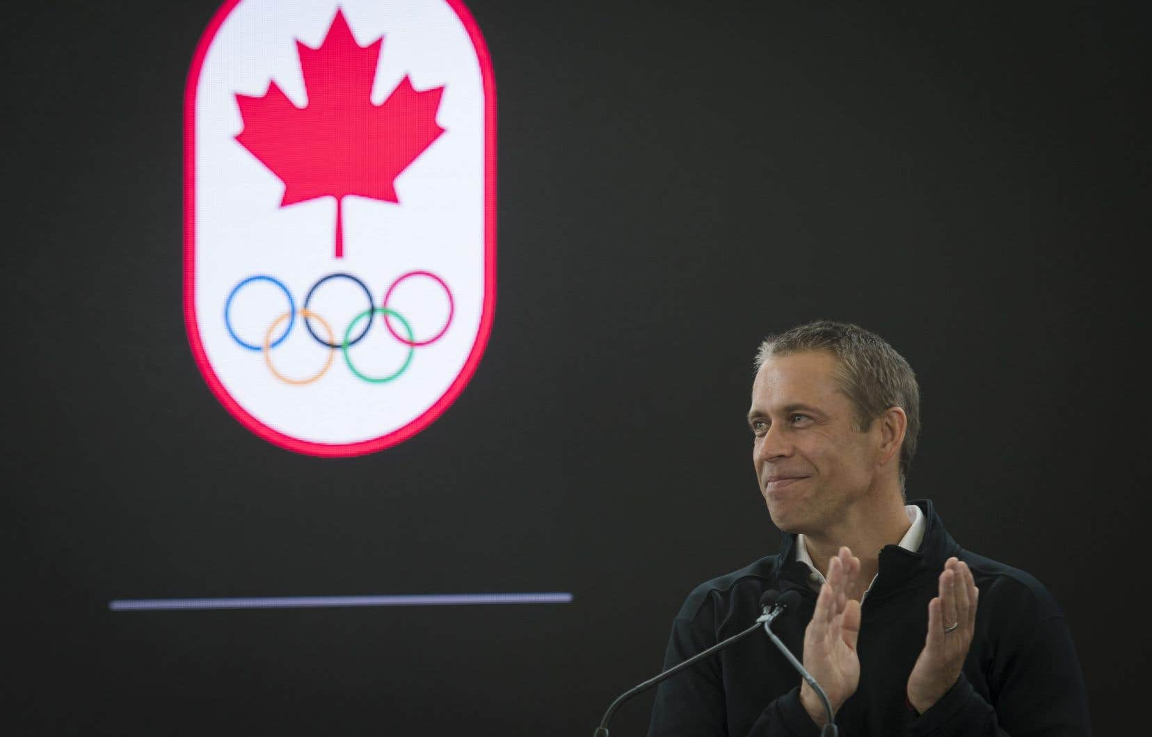 Le chef de la direction du Comité olympique canadien, David Shoemaker