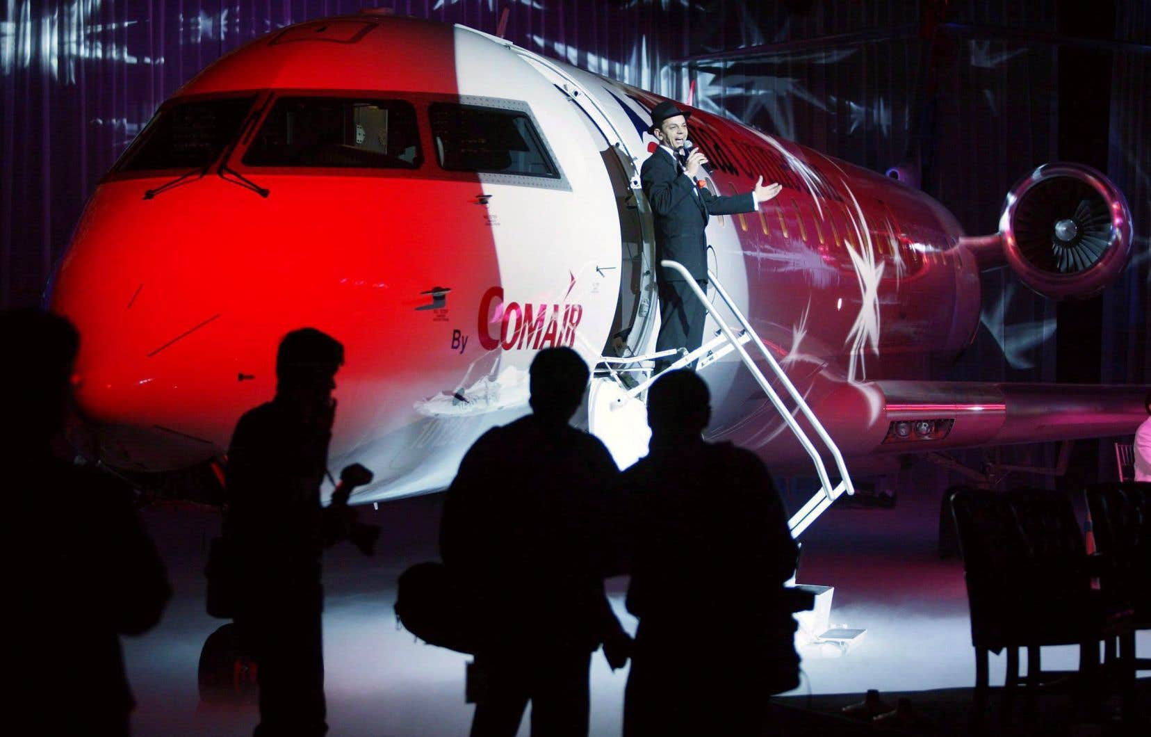 Bombardier clôture la vente des CRJ à Mitsubishi