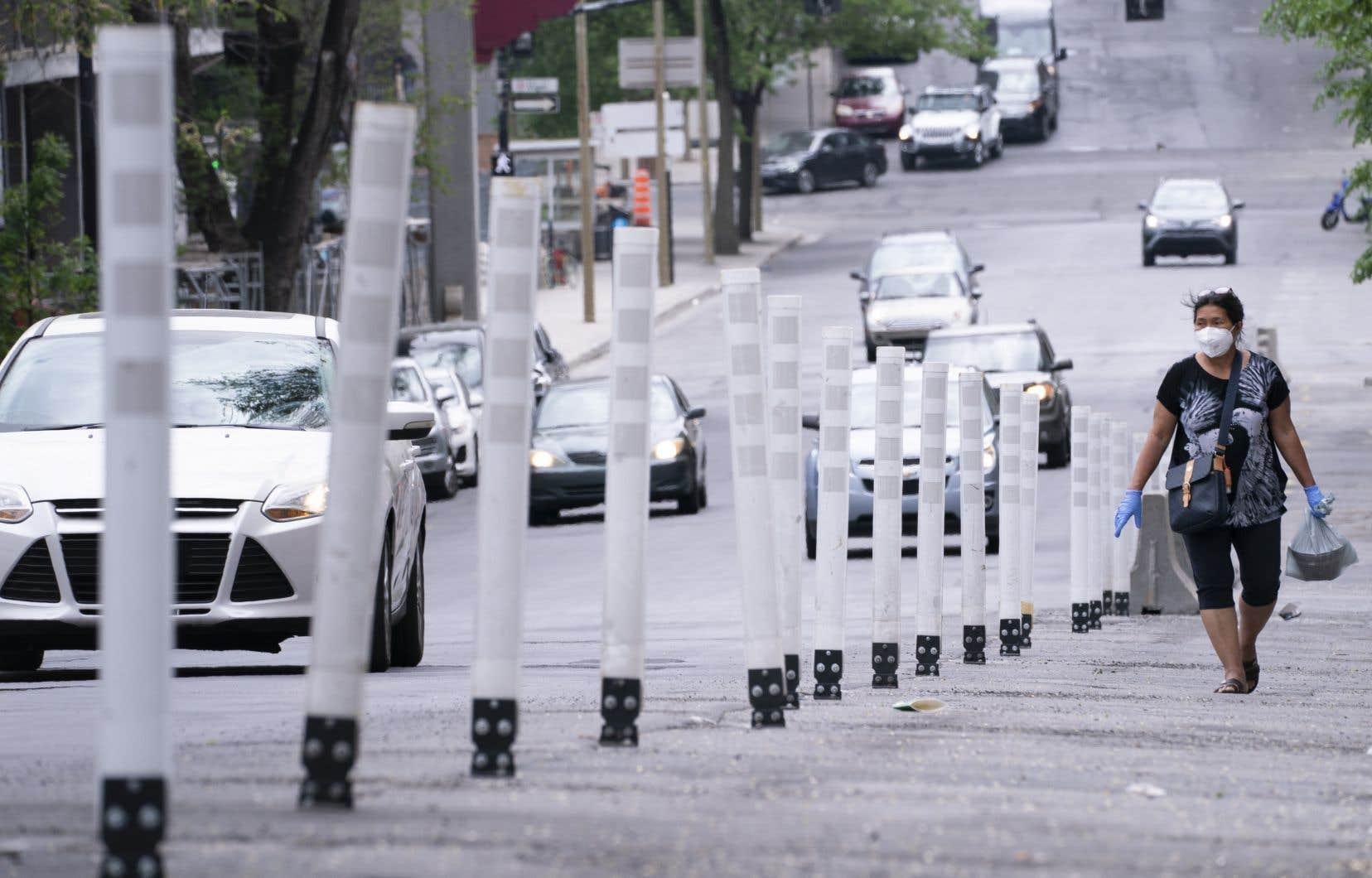 La piétonnisation d'artères commerciales permettra la distanciation physique sans nuire à l'achalandage, espère la Ville de Montréal.