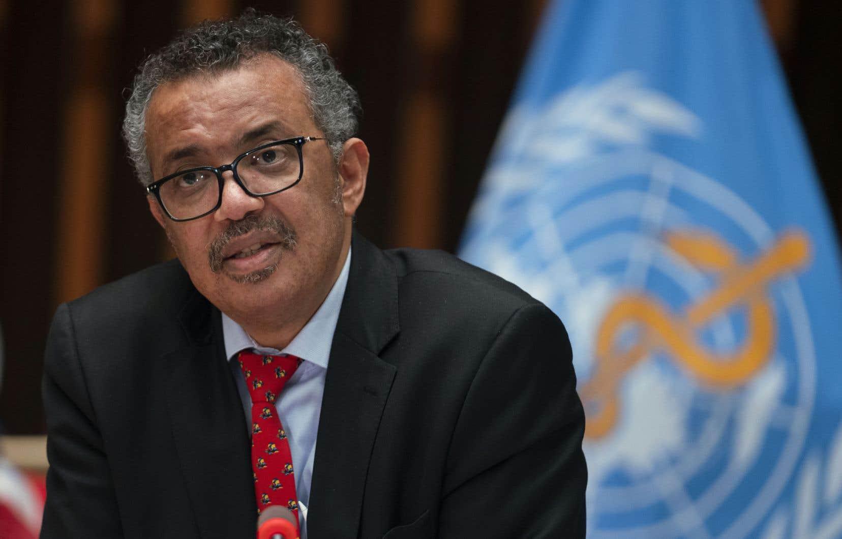Tedros Adhanom Ghebreyesus, le directeur général de l'Organisation mondiale de la santé (OMS)