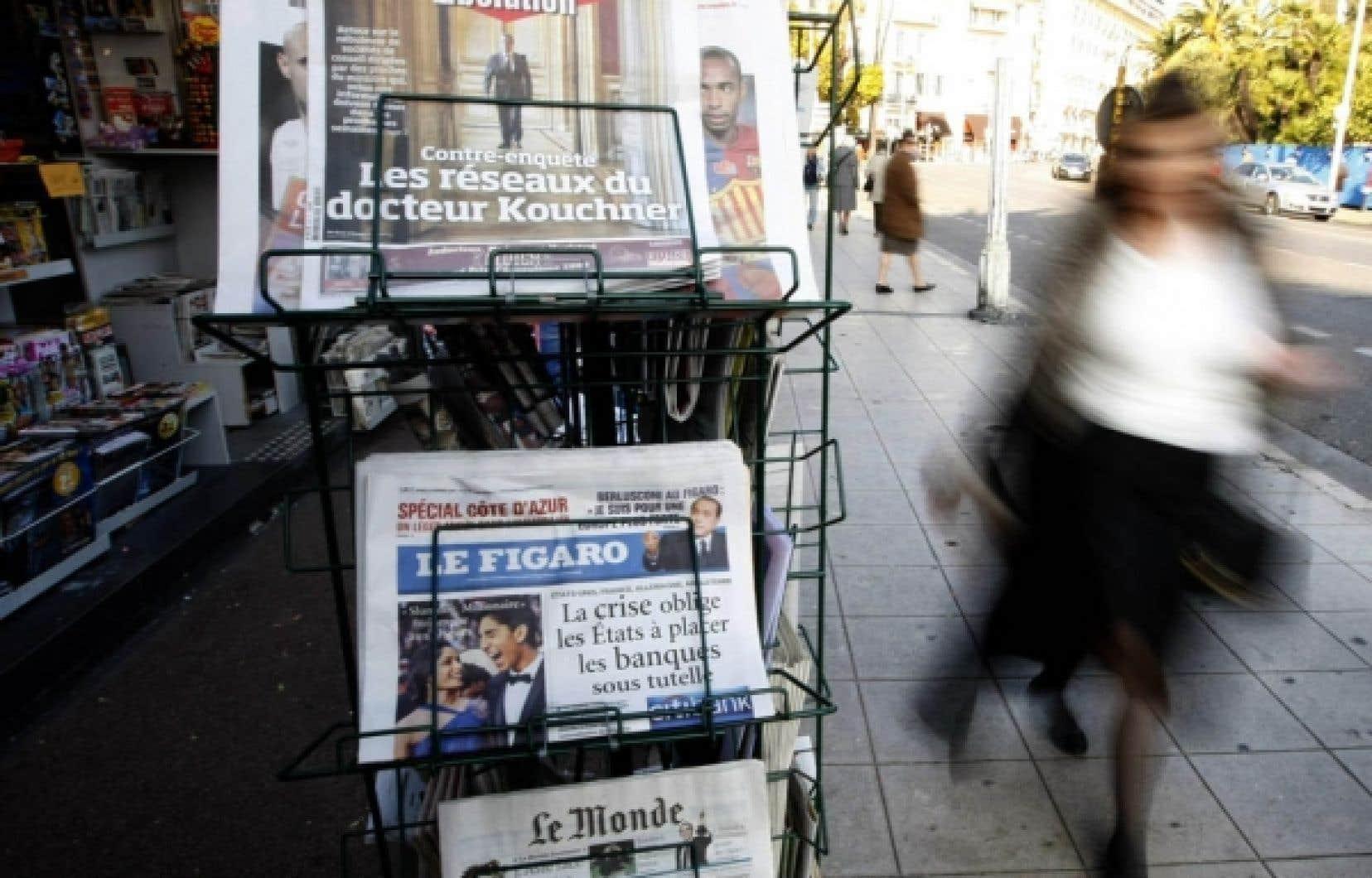 L'actualité étrangère en perte de vitesse dans les journaux français?<br />