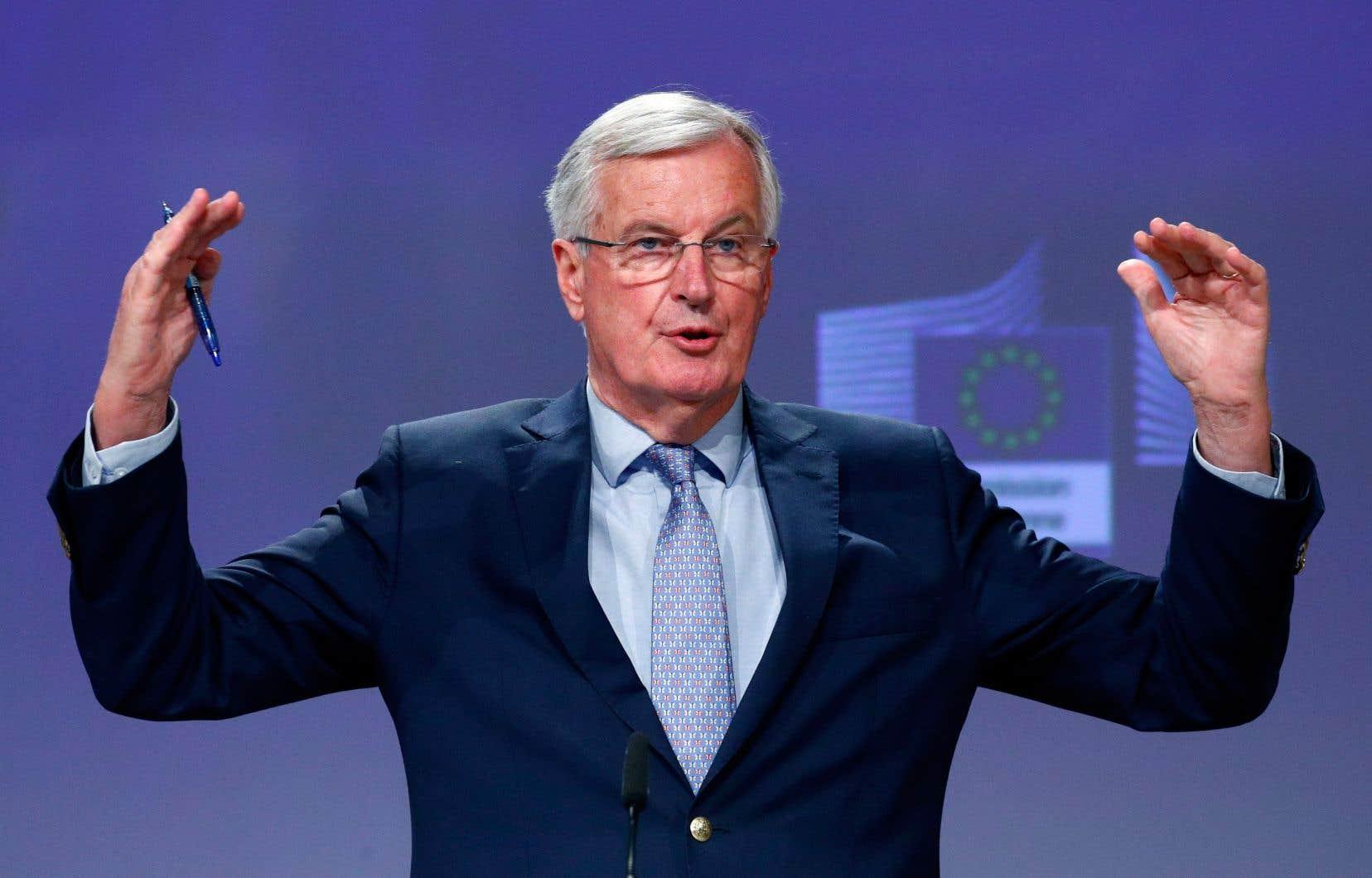 Le négociateur européen, Michel Barnier