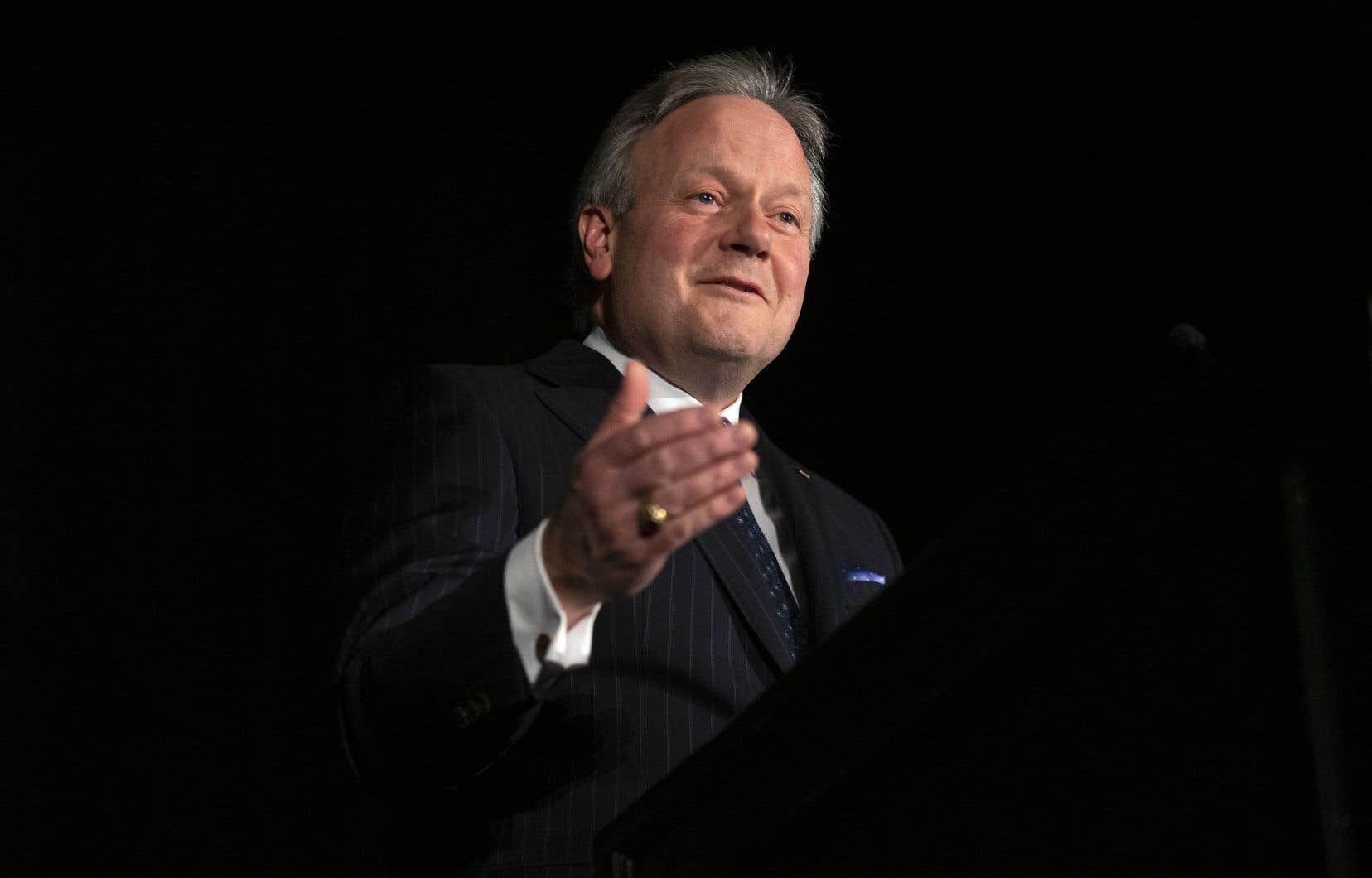 Stephen Poloz quittera prochainement le poste de gouverneur de la Banque du Canada, qu'il a occupé durant sept ans.