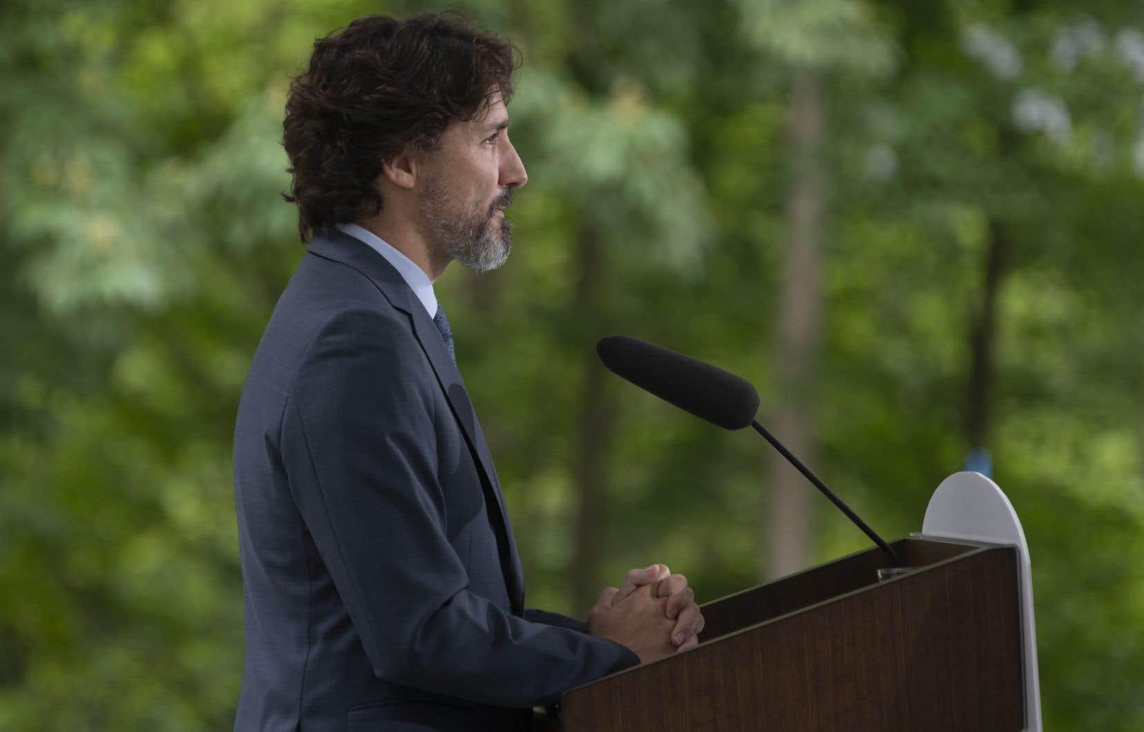 Le premier ministre Justin Trudeau fera le point jeudi sur la pandémie de coronavirus.