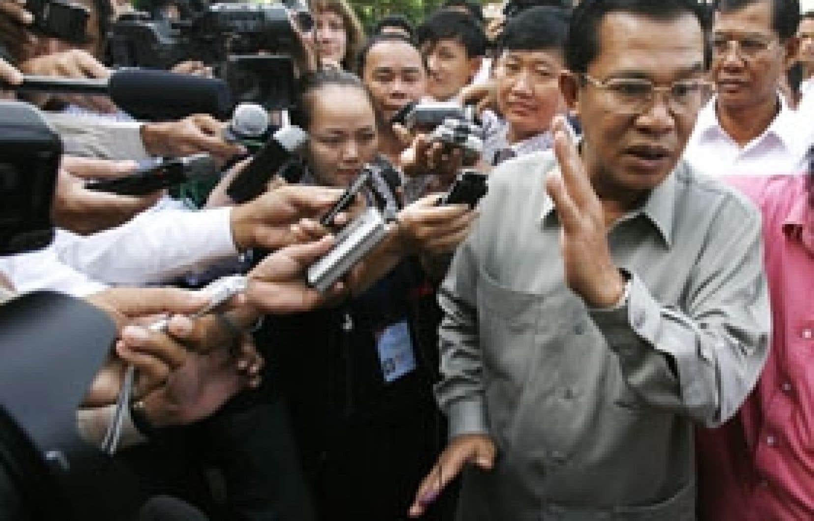 Le premier ministre cambodgien Hun Sen gardera vraisemblablement le poste qu'il occupe depuis 1985.