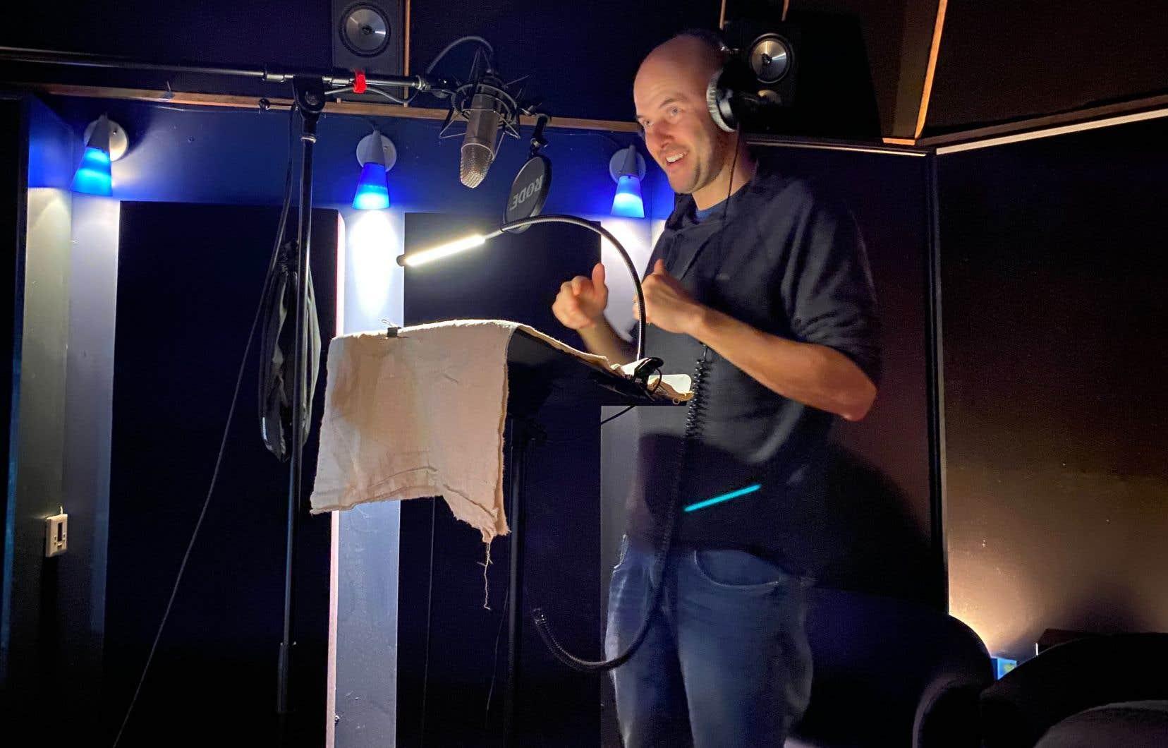 Emmanuel Bédard, interprète pour le balado «Solstice»
