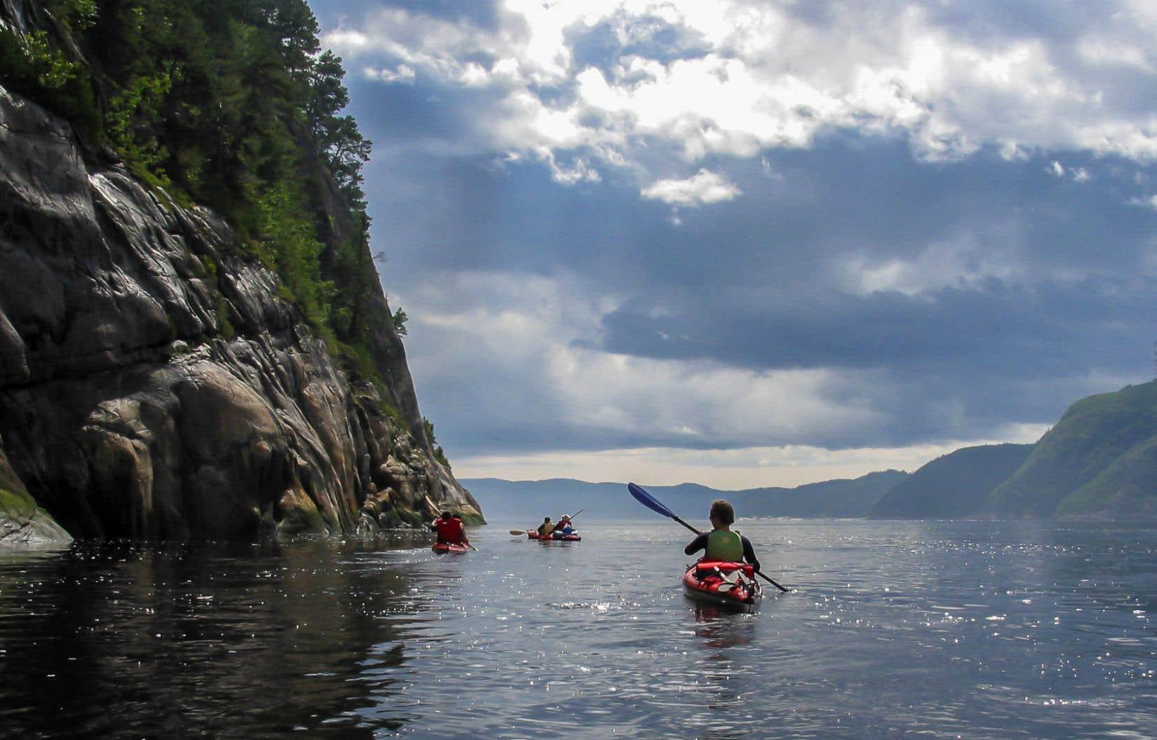 Le fjord du Saguenay, considéré comme l'un des plus beaux du monde.