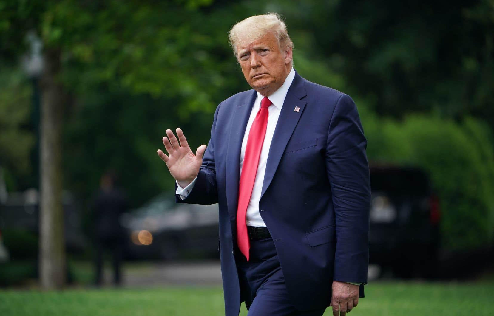 Le président Trump a assuré vendredi que les États-Unis avaient «largement surmonté» la crise, se basant sur les bons chiffres du chômage.