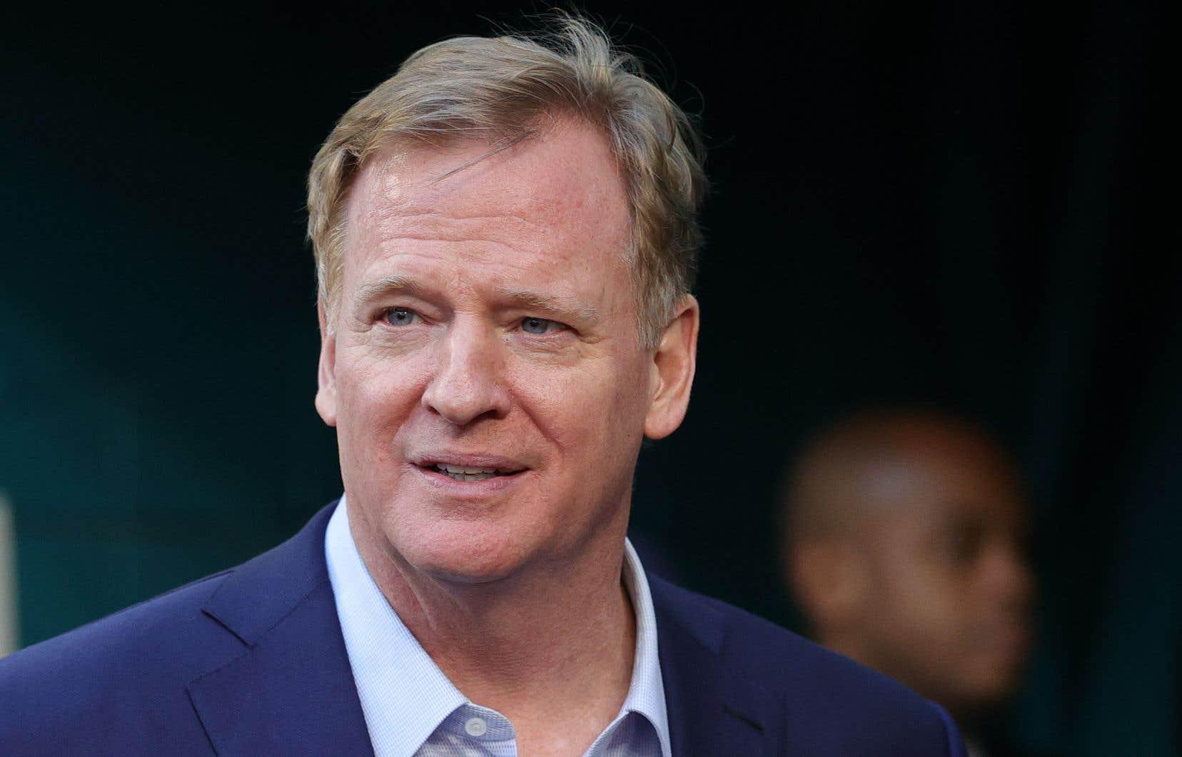 Le patron de la NFL, Roger Goodell