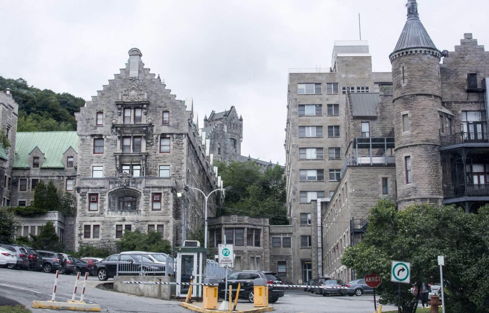L'ancien hôpital Royal-Victoria